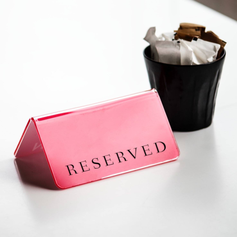 Reservas -