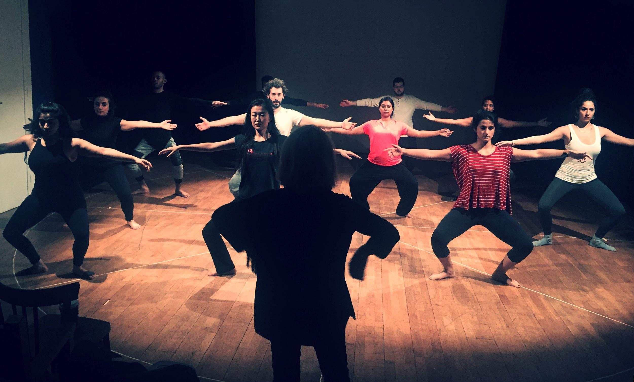 JE SUIS MA LANGUE - spectacle de TRANCE-FORMS, Paris - Abu Dhabi