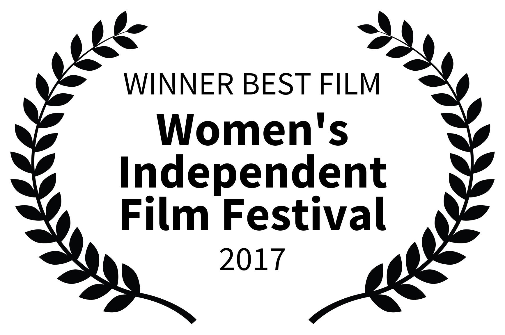 WINNER BEST FILM - Womens Independent Film Festival - 2017.jpg