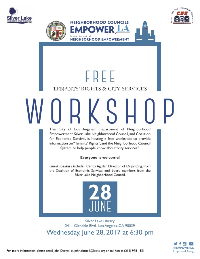 Flyer - Tenants' Rights and City Services Workshop - 6.28.17.jpg