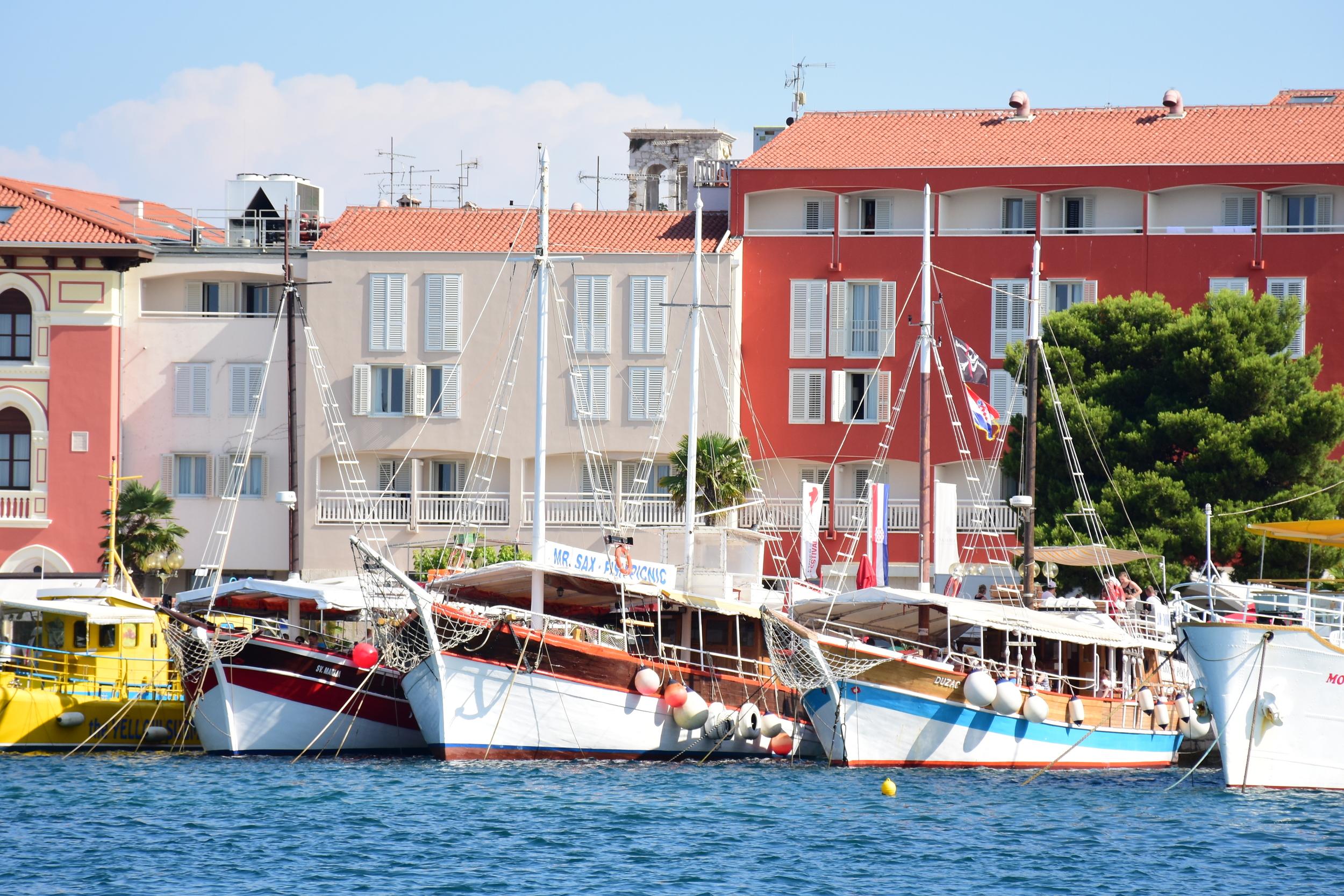 Harbour Porec Croatia