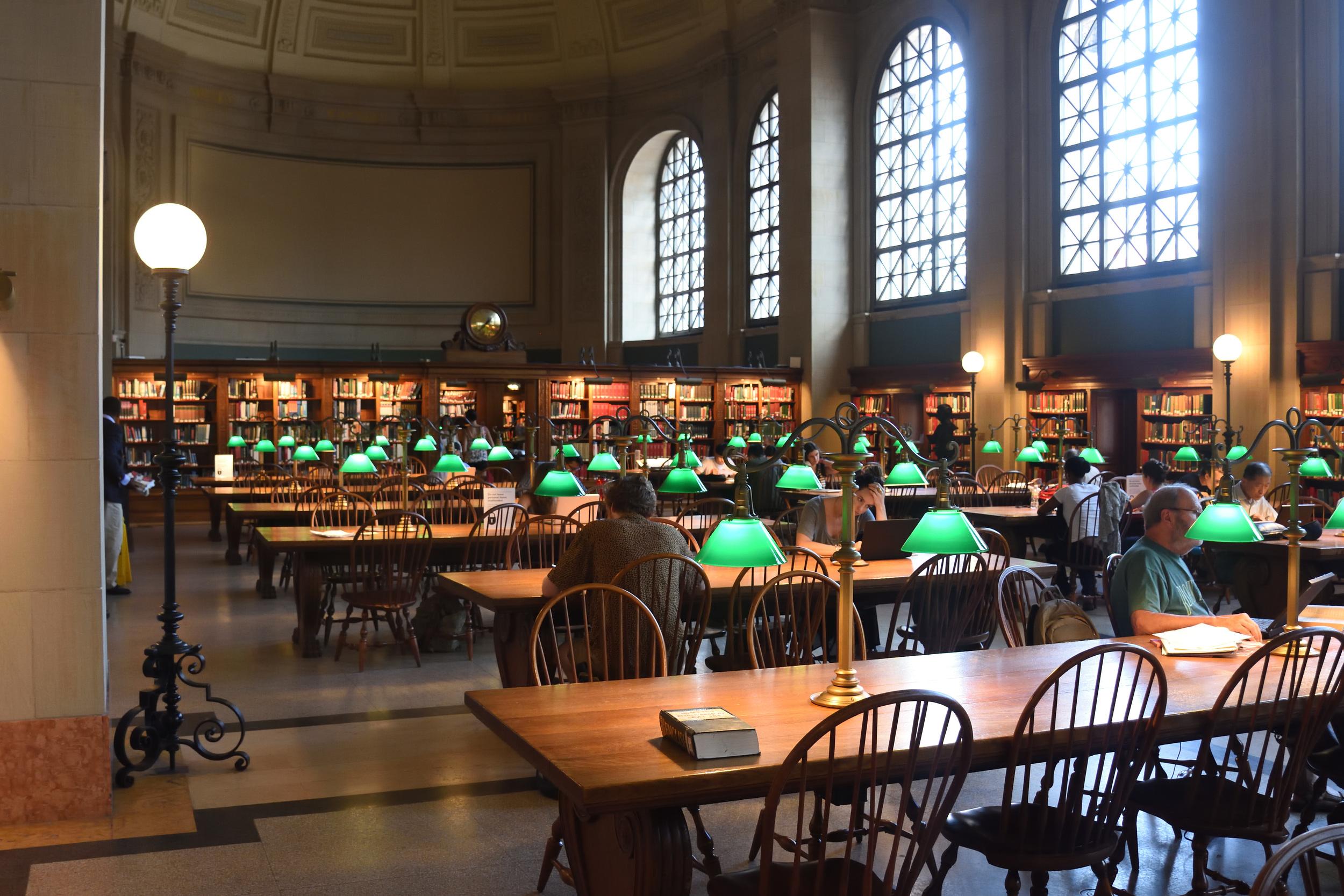 Boston Public Library 2016