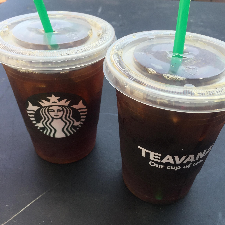 Ice Tea Starbucks 2016
