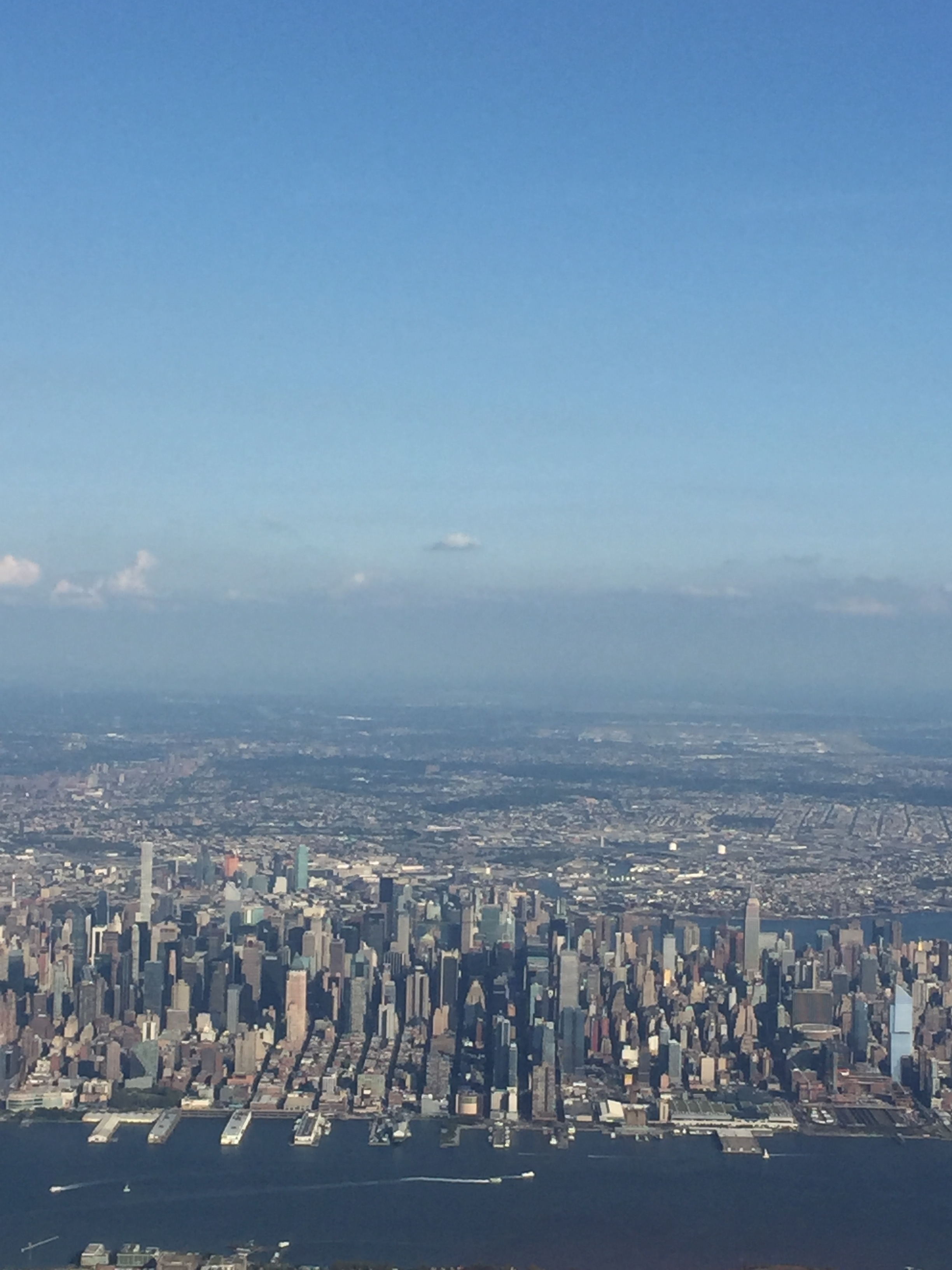 NYC from the above
