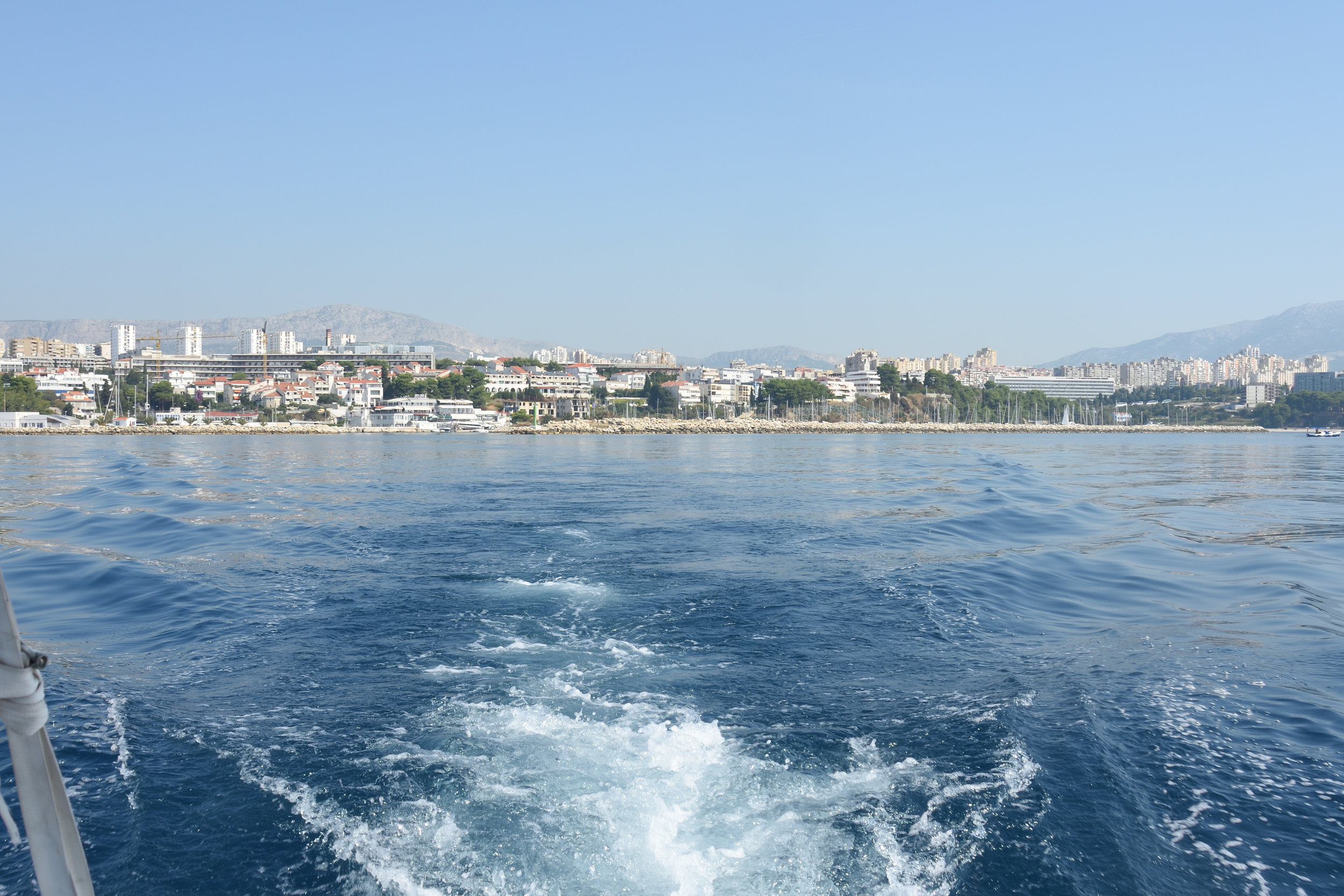 Leaving Split...