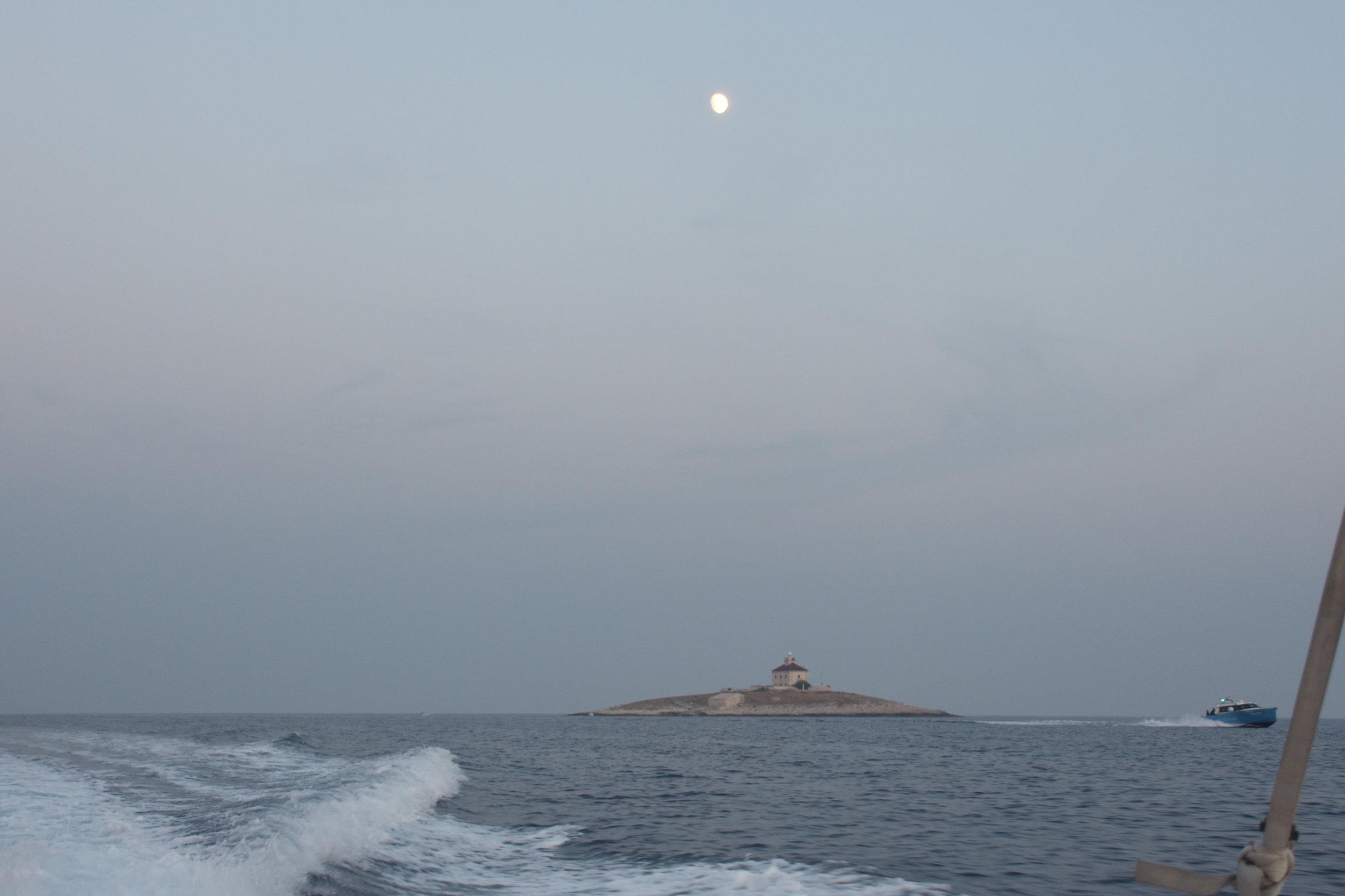 Going home.Adriatic Sea, Croatia 2016