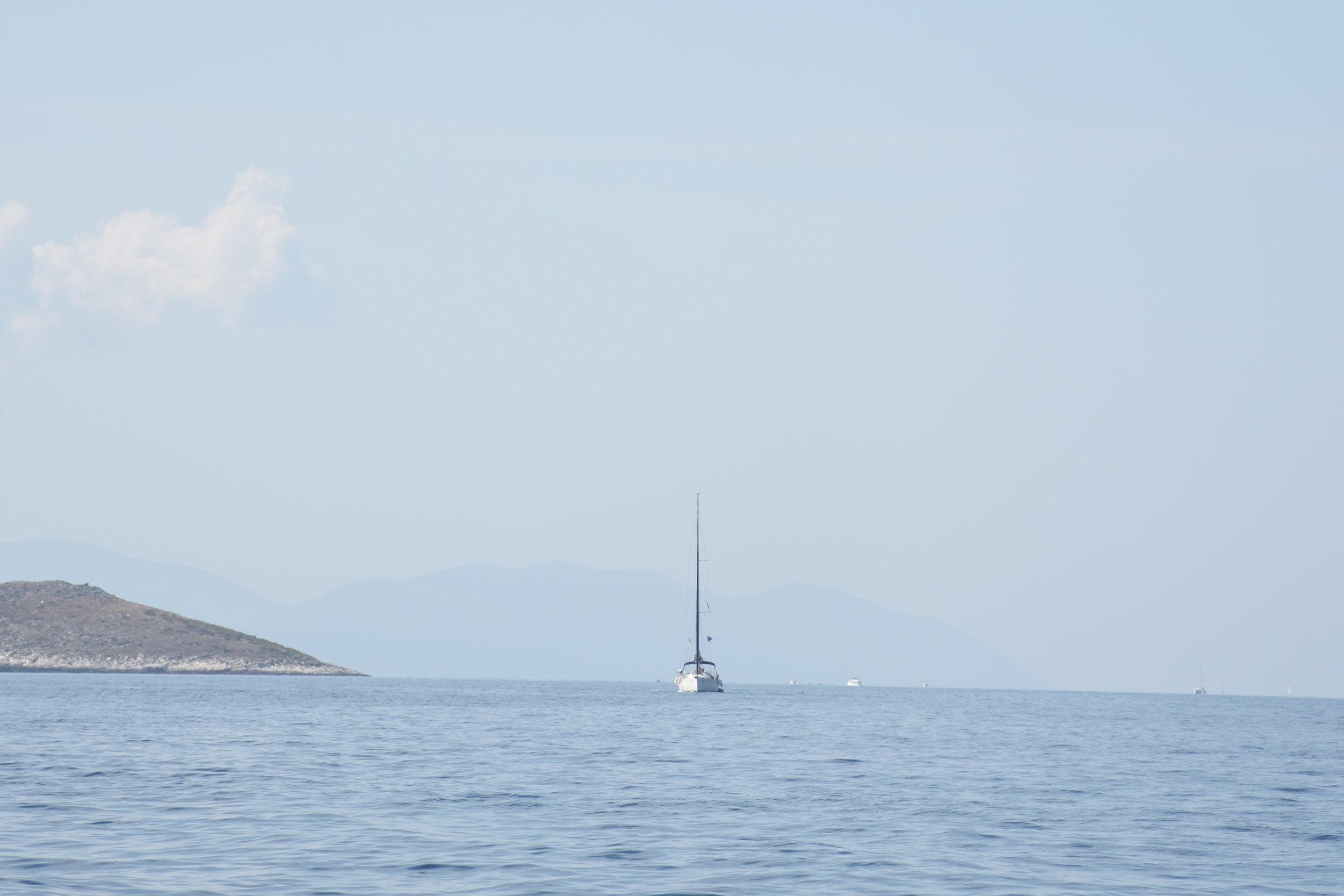 On our way into Kornati Islands, Croatia 2016