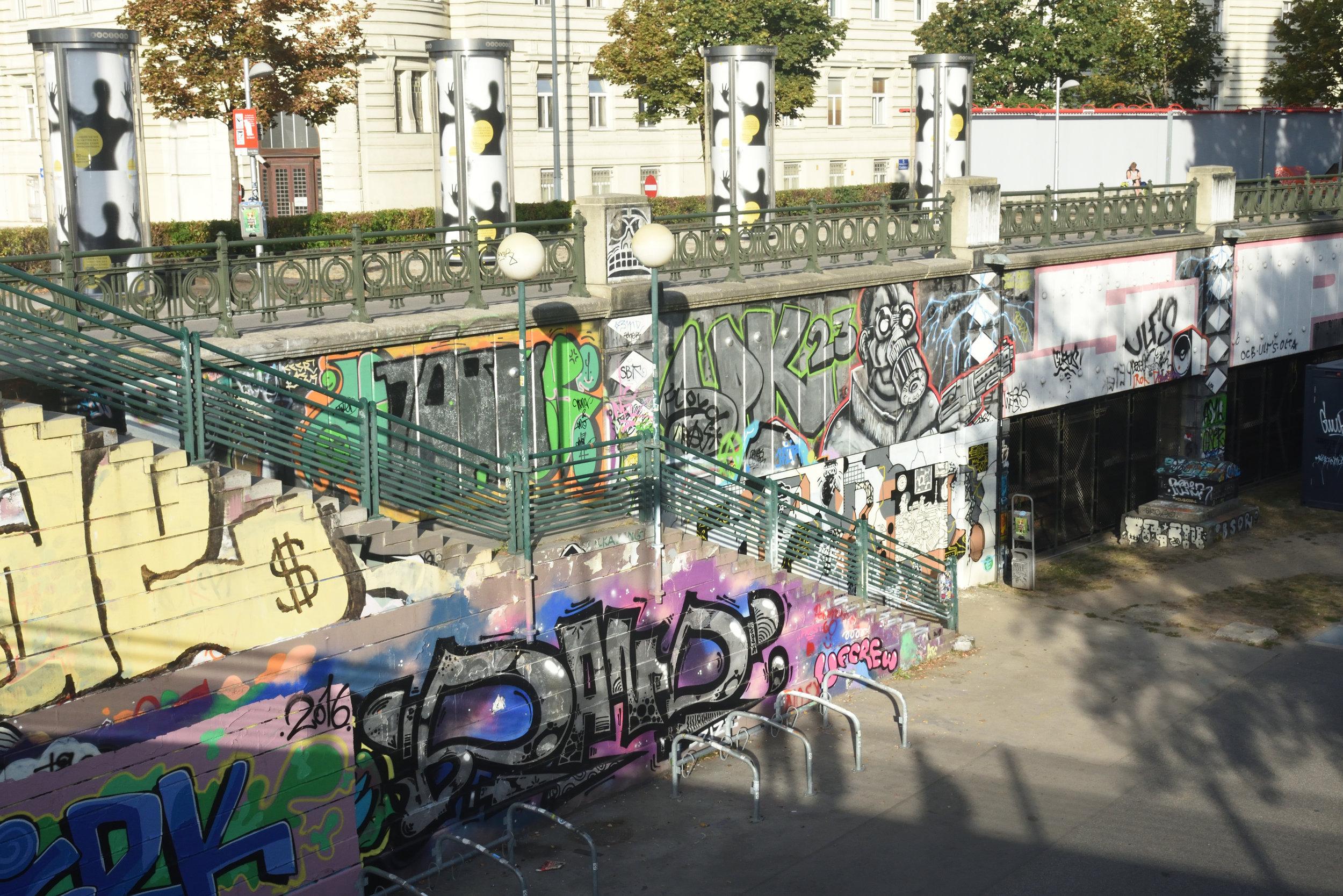 Graffiti, Vienna 2016