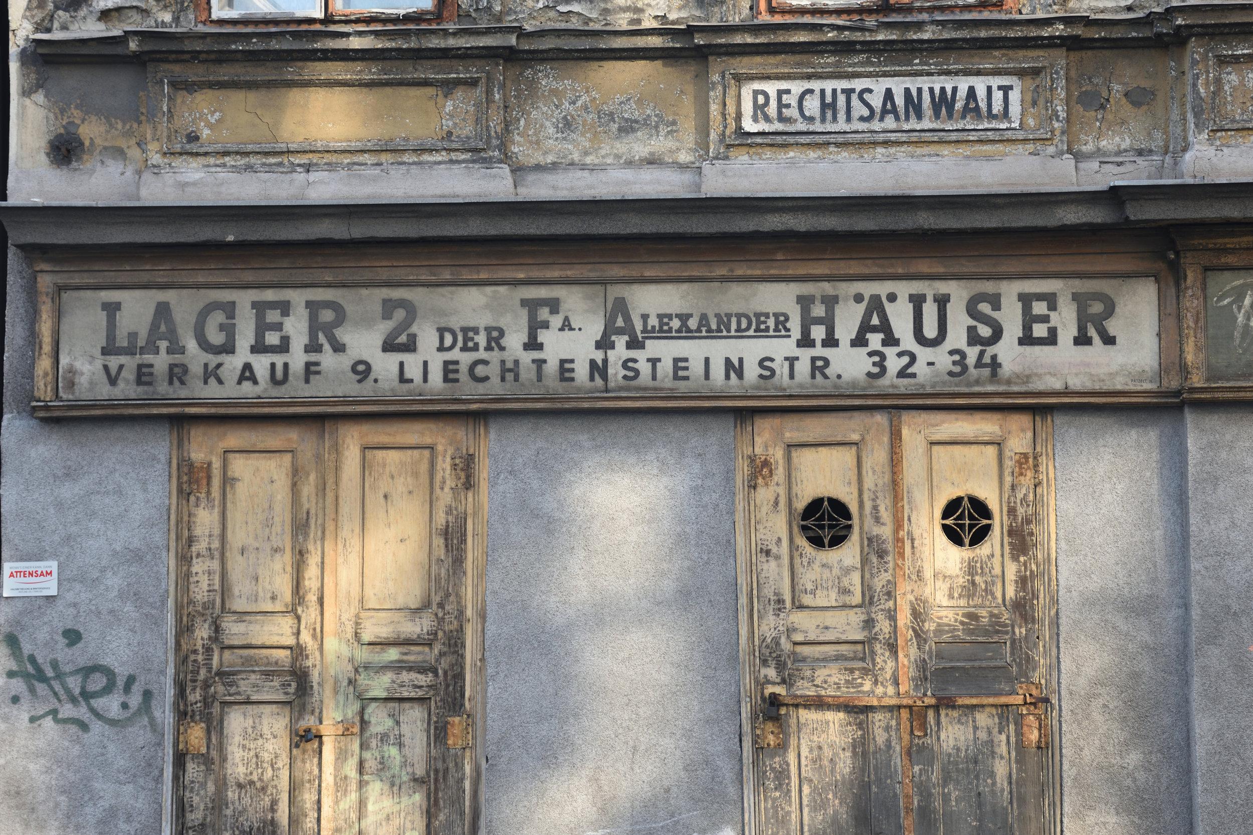 Liechtensteinstrasse, Vienna 2016