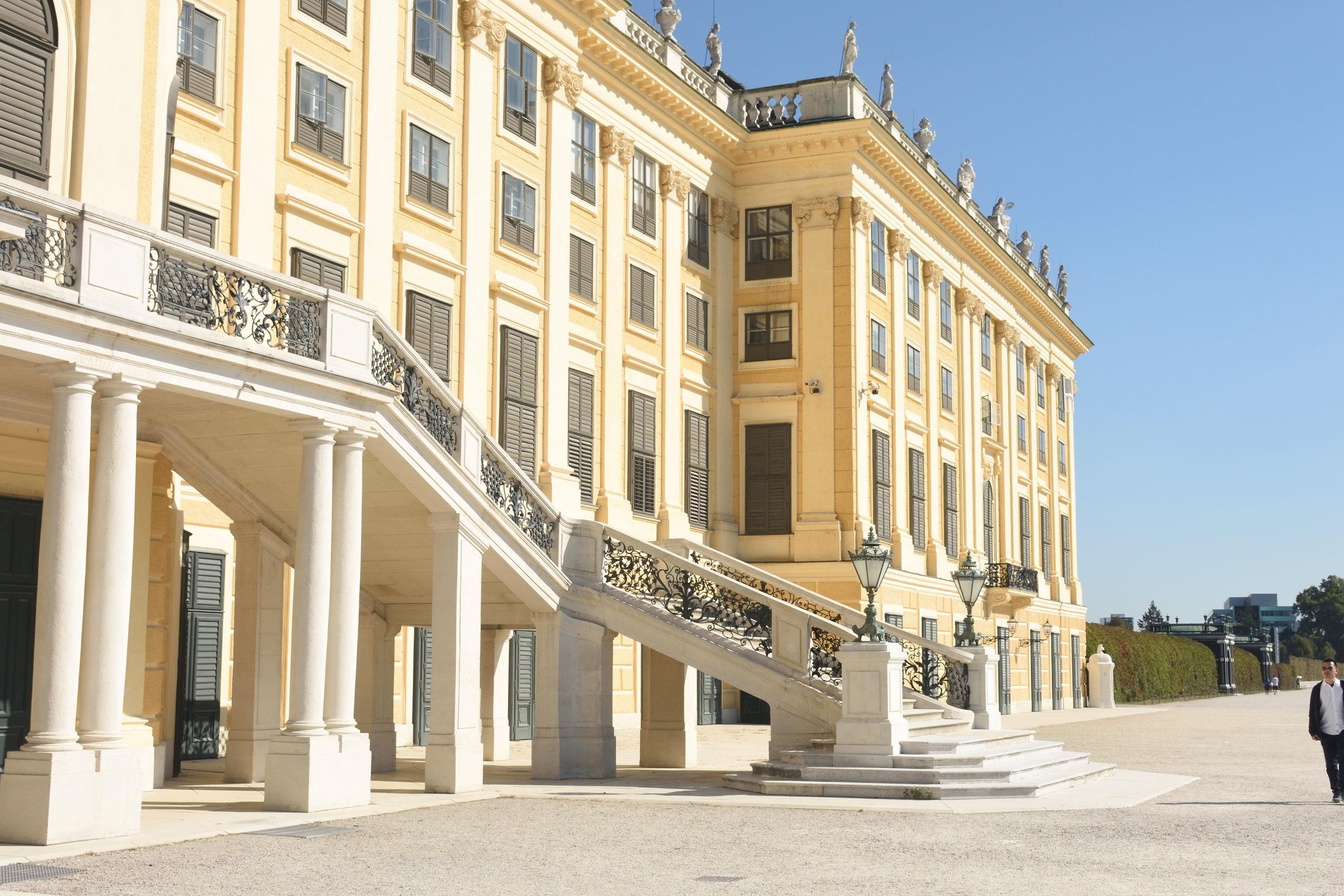 Schloss Schönbrunn, Vienna 2016