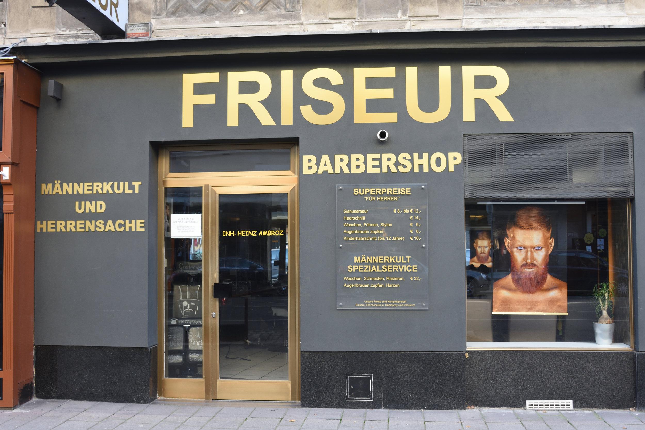 Barbershop, Vienna 2016