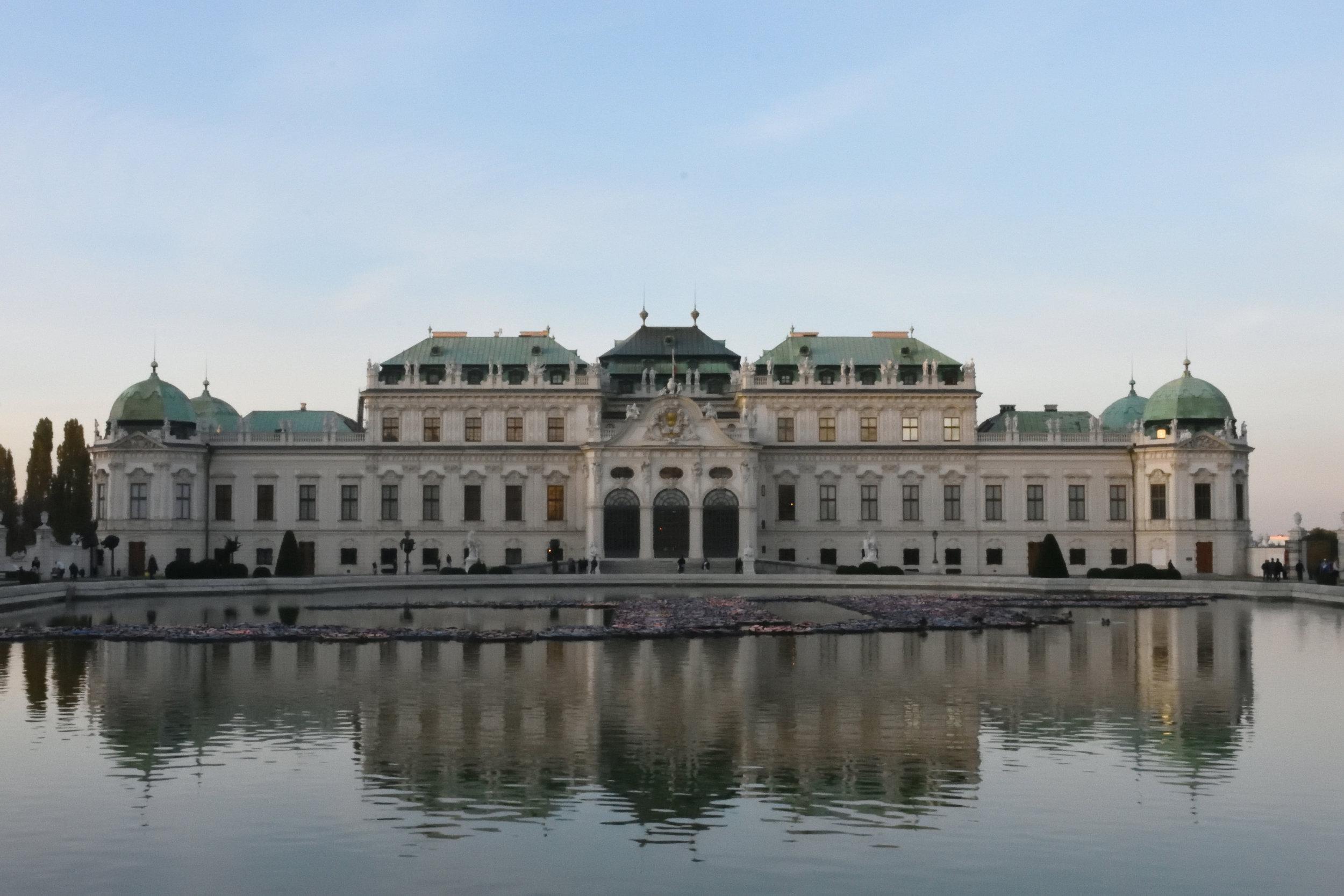 Schloss Belvedere, Vienna 2016