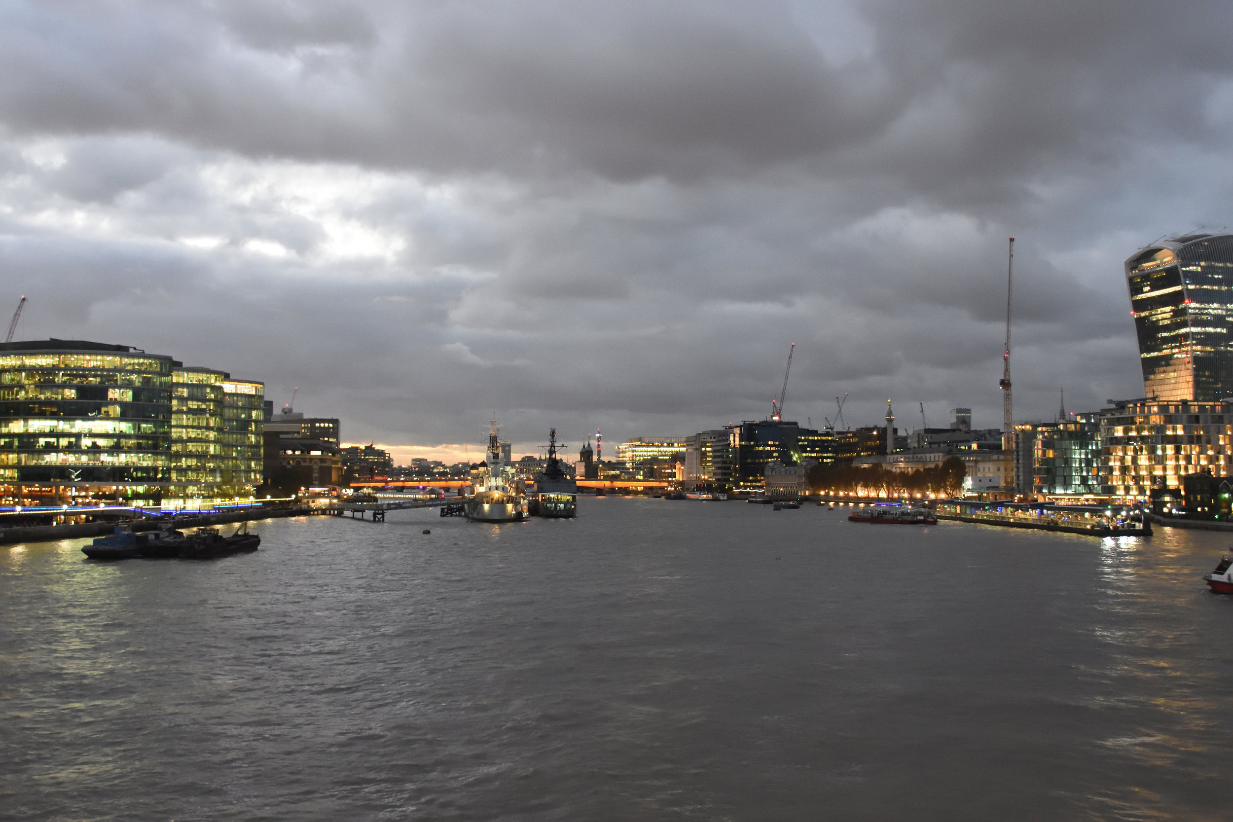The Thames, London 2016