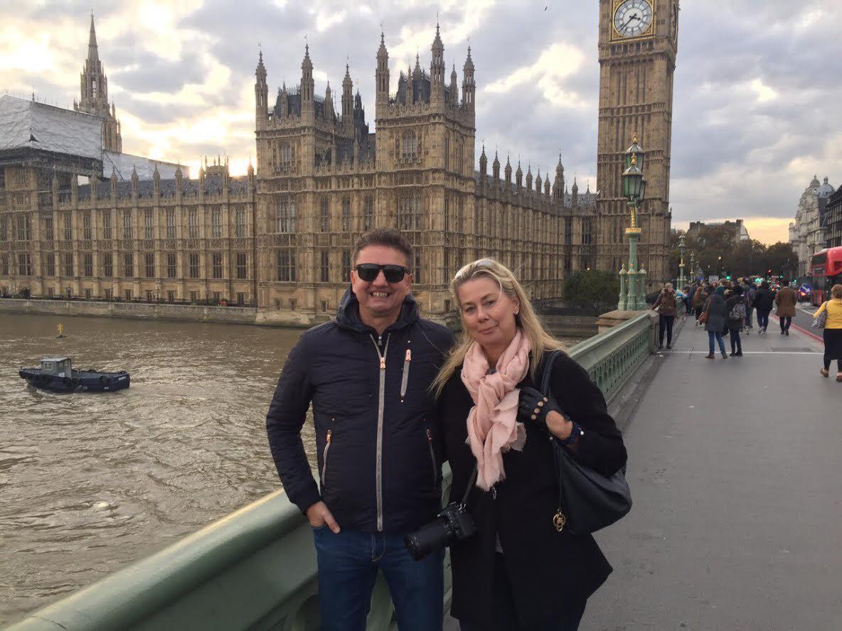 Me & Bojan outside Big Ben