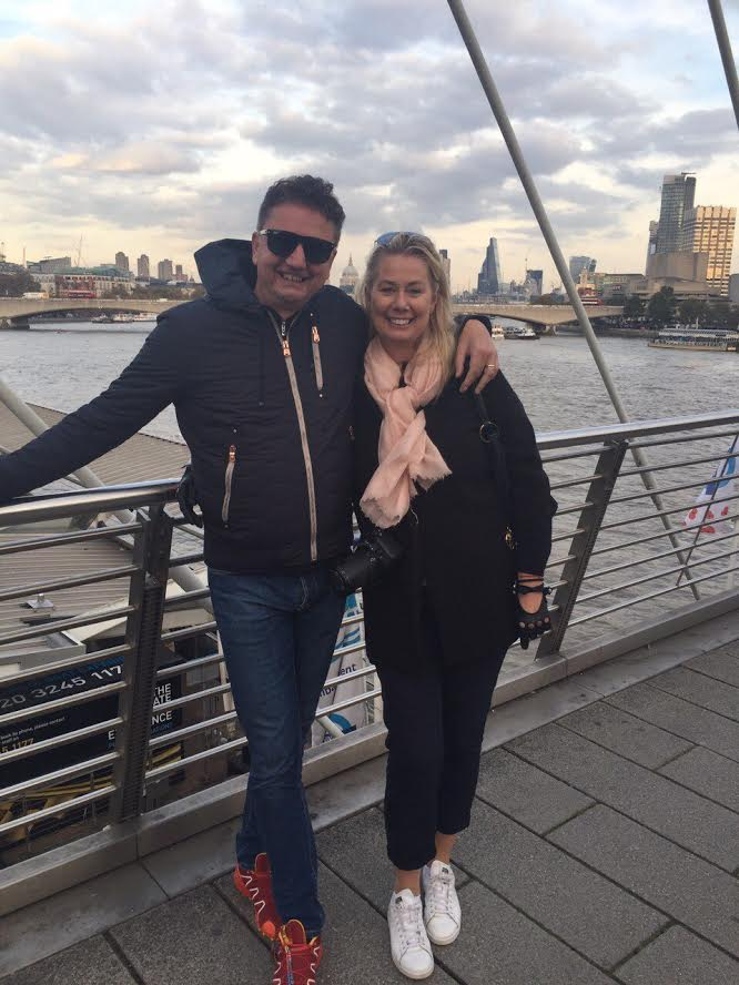 Me & Bojan at The Thames