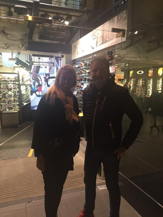 Me & Bojan at Covent Garden