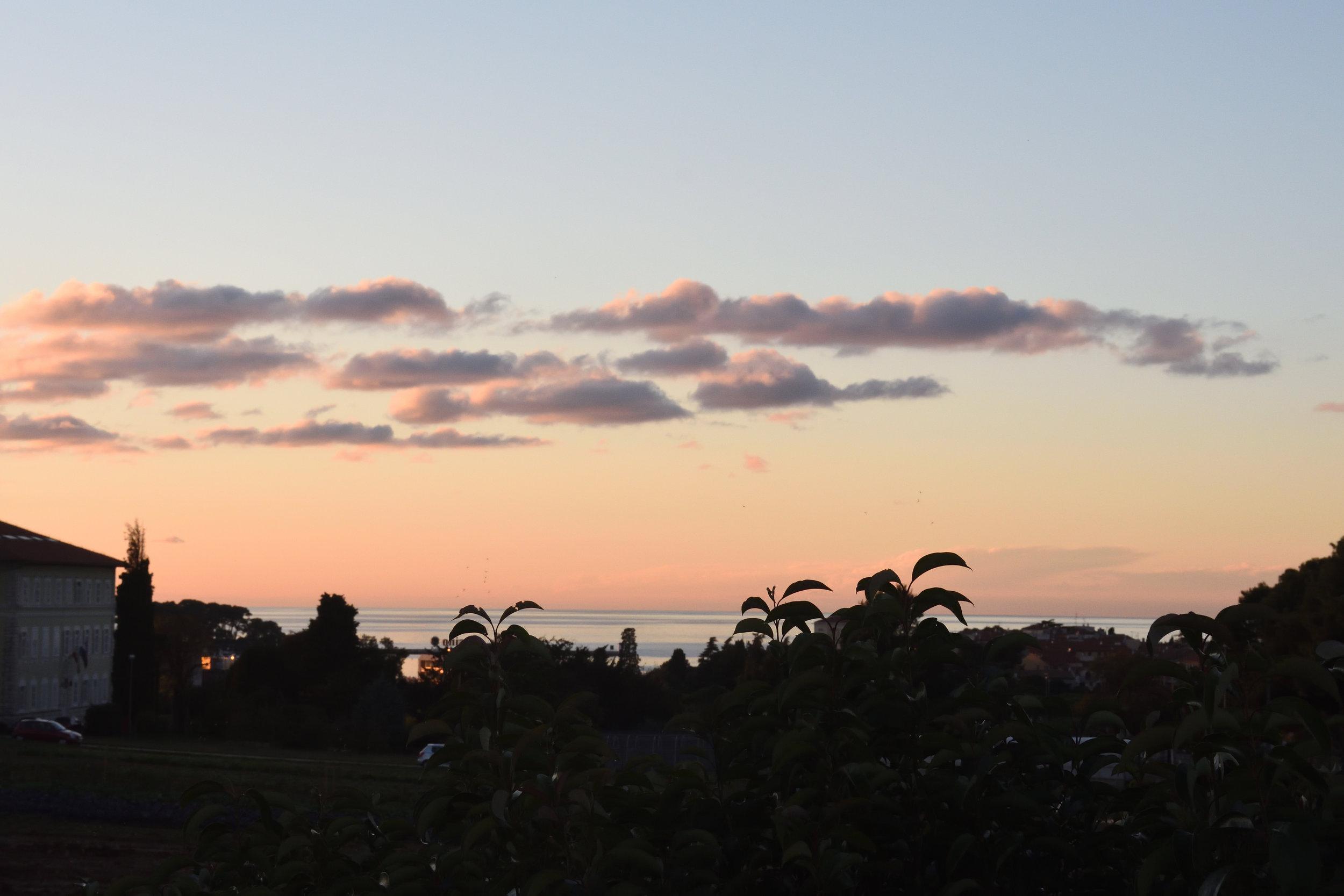 View from Villa Bruna, Porec 2016