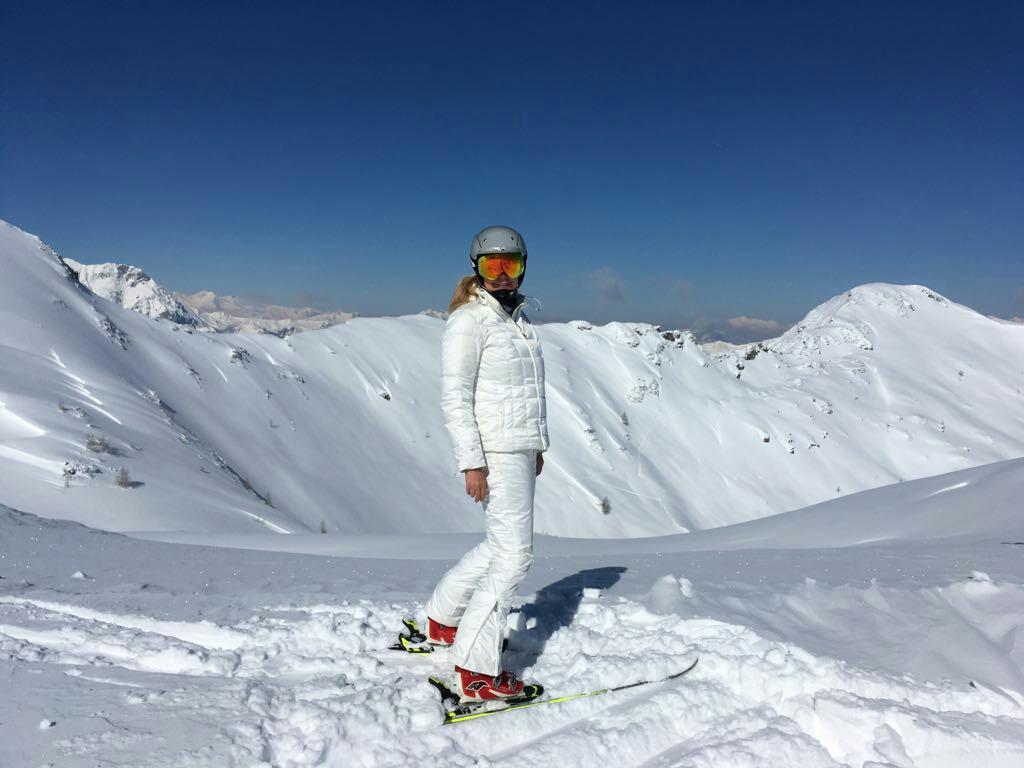 Me at the top! Zauchensee 2017