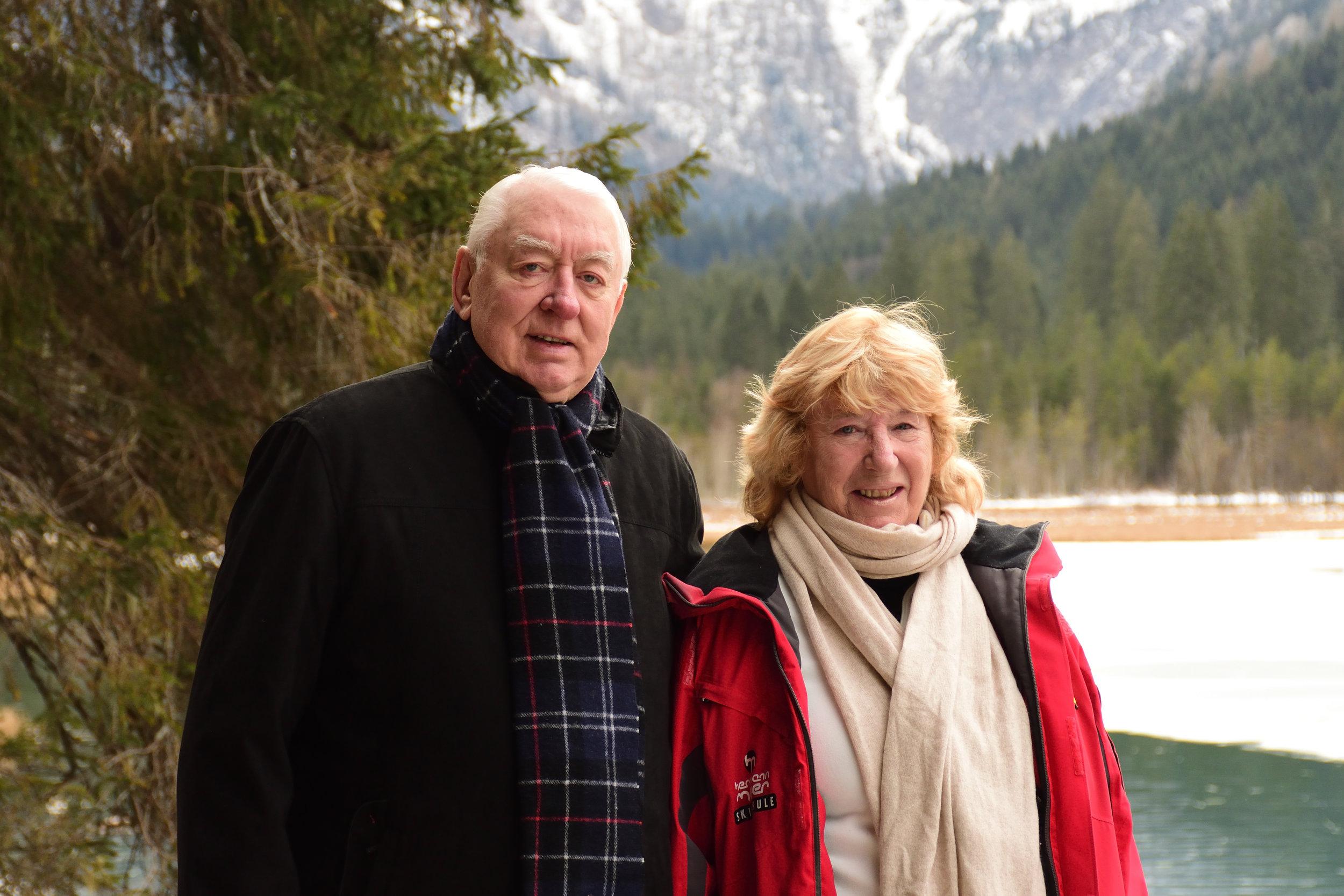 Hunter & Sylvia Mabon, Jägersee January 2016