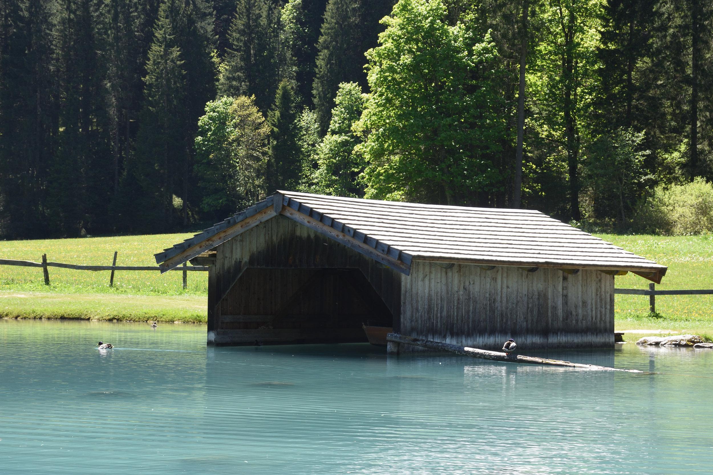 Jägersee in Kleinarl, May 2017
