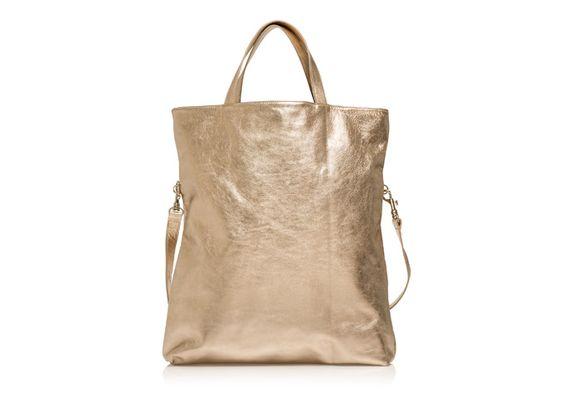 3) Guldväska märke okänt. | Gold bag brand unknown.  nk.se