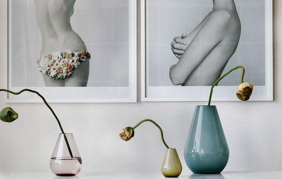 6) Fina vaser. | Nice vases. Falla from   Wik & Walsoe  . (@mycasa)
