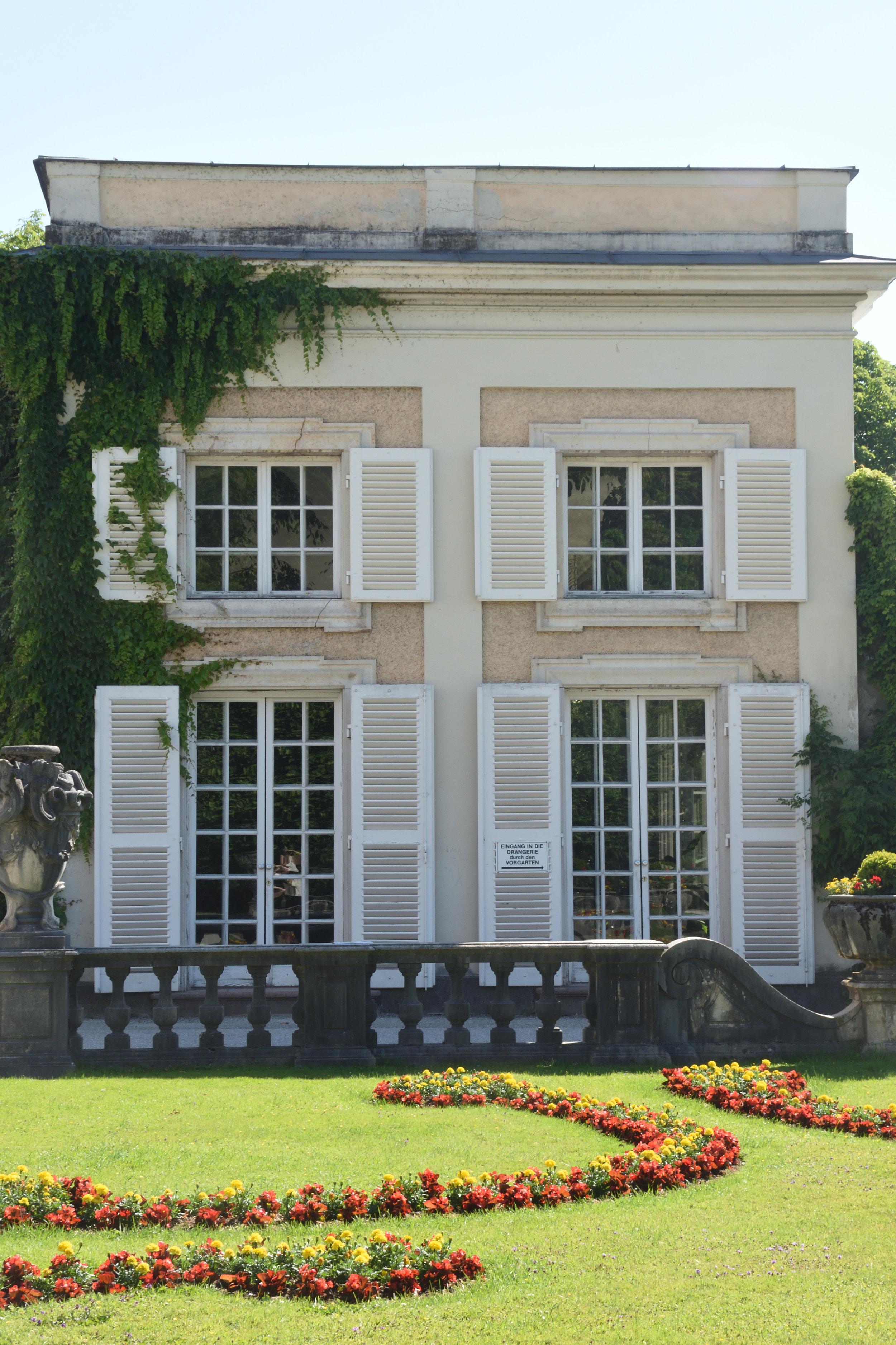 The Conservatory, Schloss Mirabell, Salzburg, June 2017