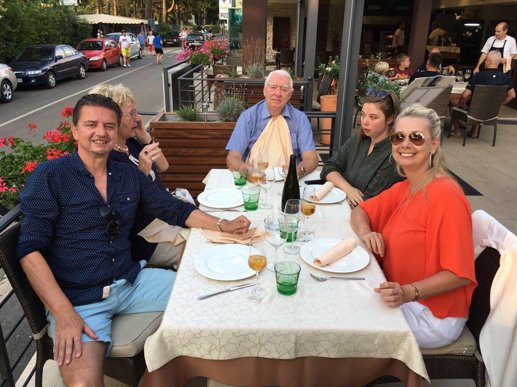 Bojan, Sylvia, Hunter, Mimmi & me. Porec, 2017