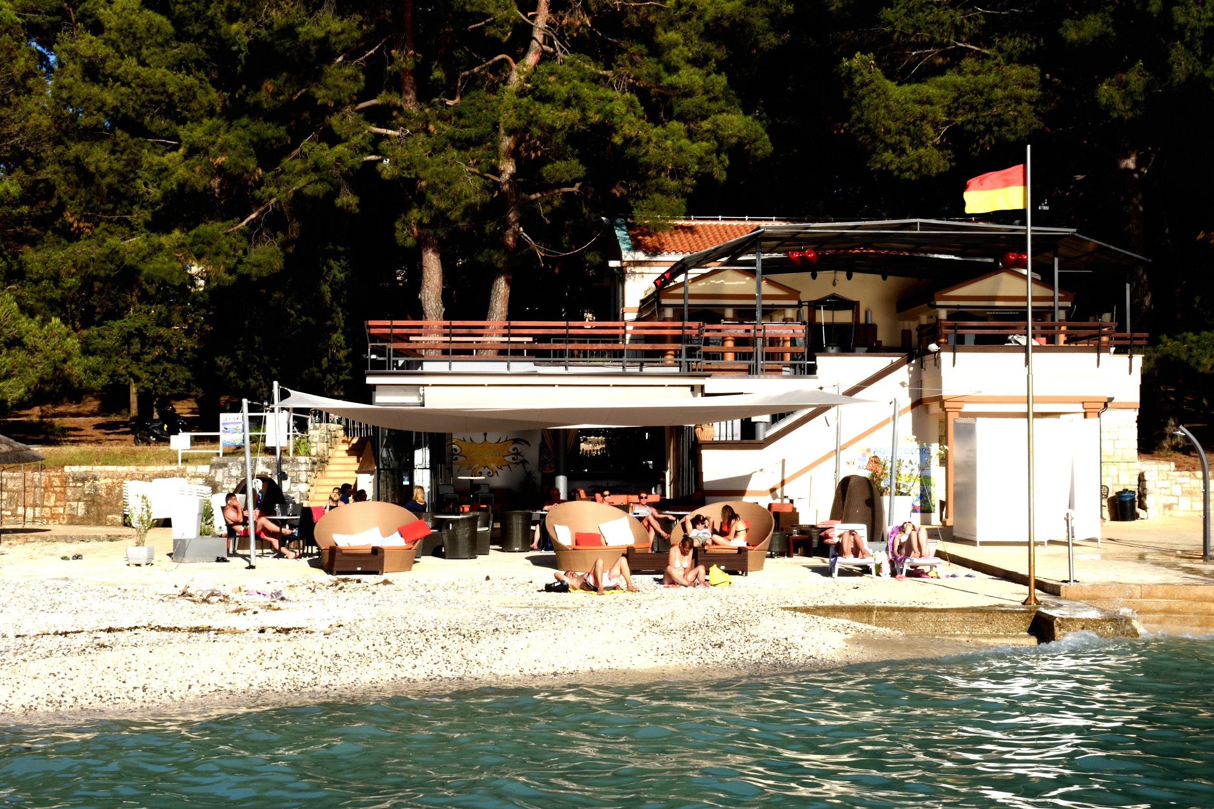 Villa Club, Porec Croatia July 2017