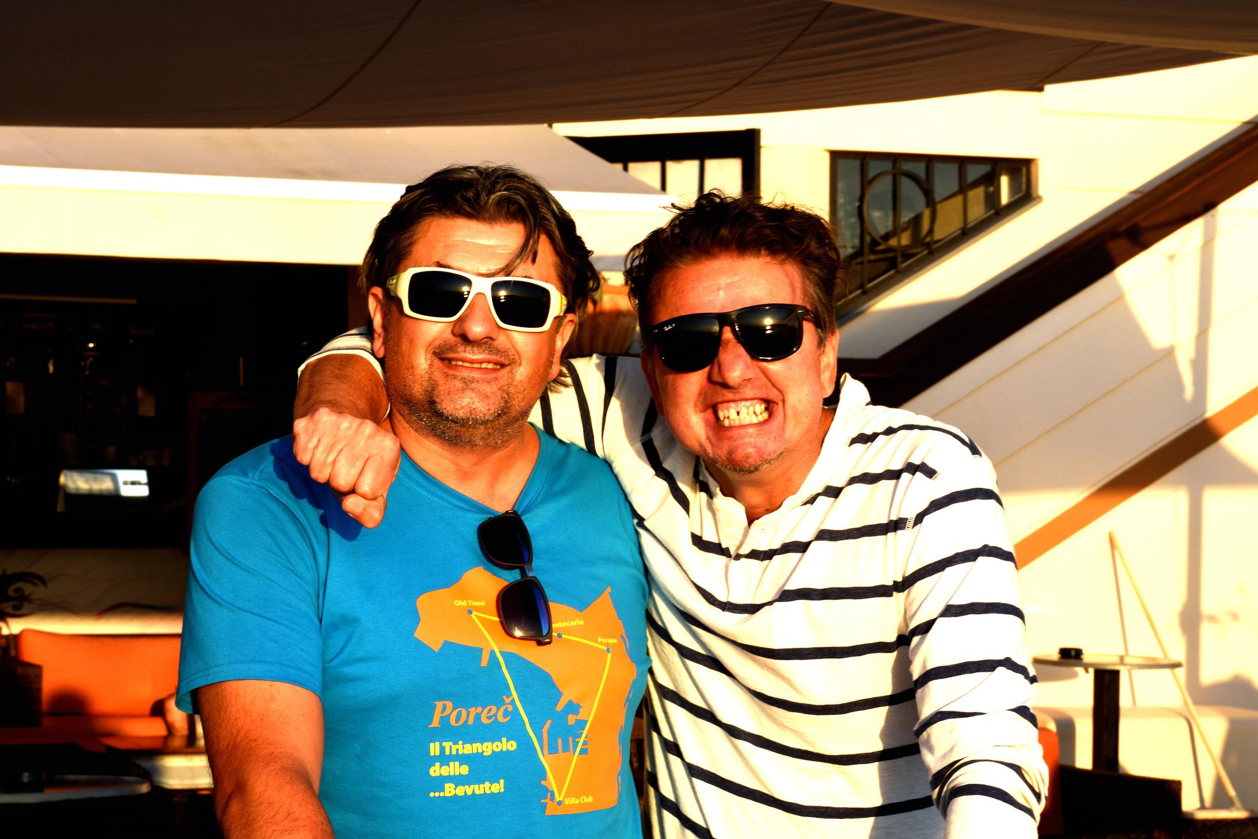 Sander and Bojan!