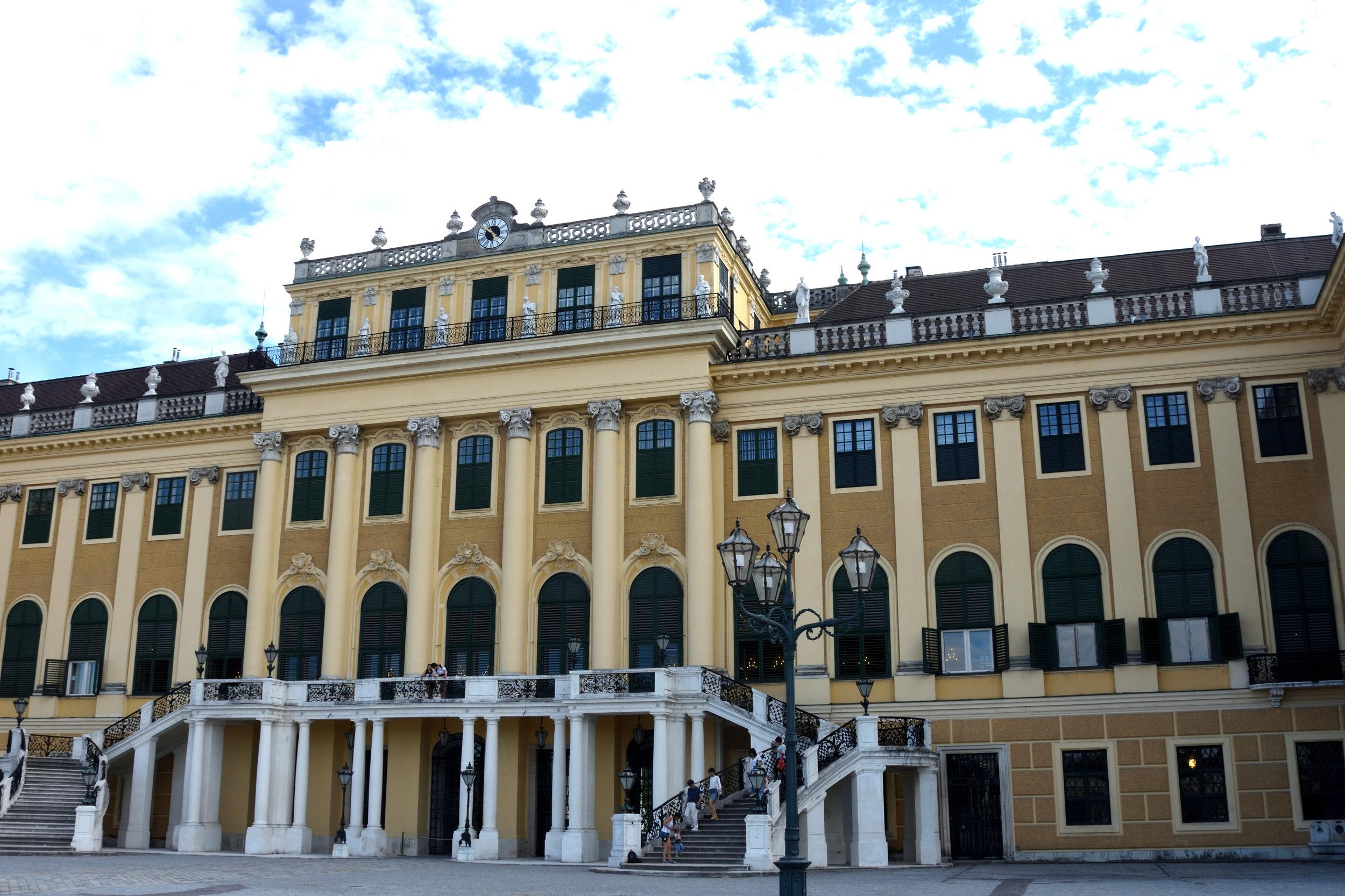 Schönbrunn castle, Vienna July 2017