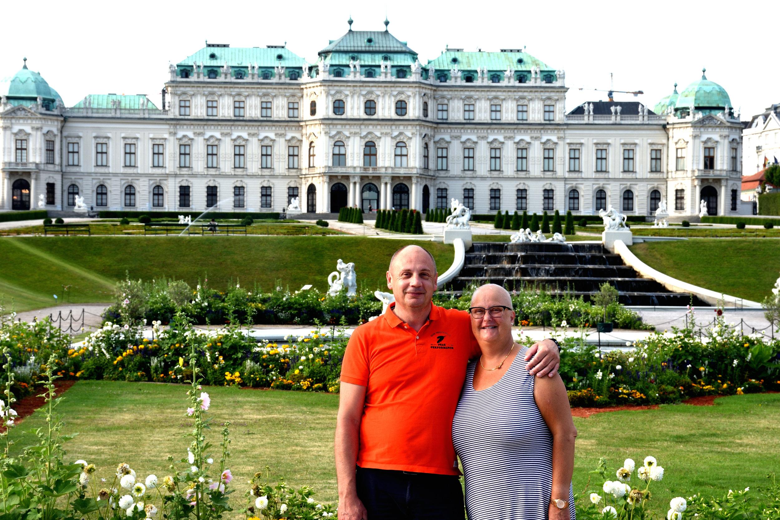 Stefan & Ullis, Belvedere, Vienna July 2017
