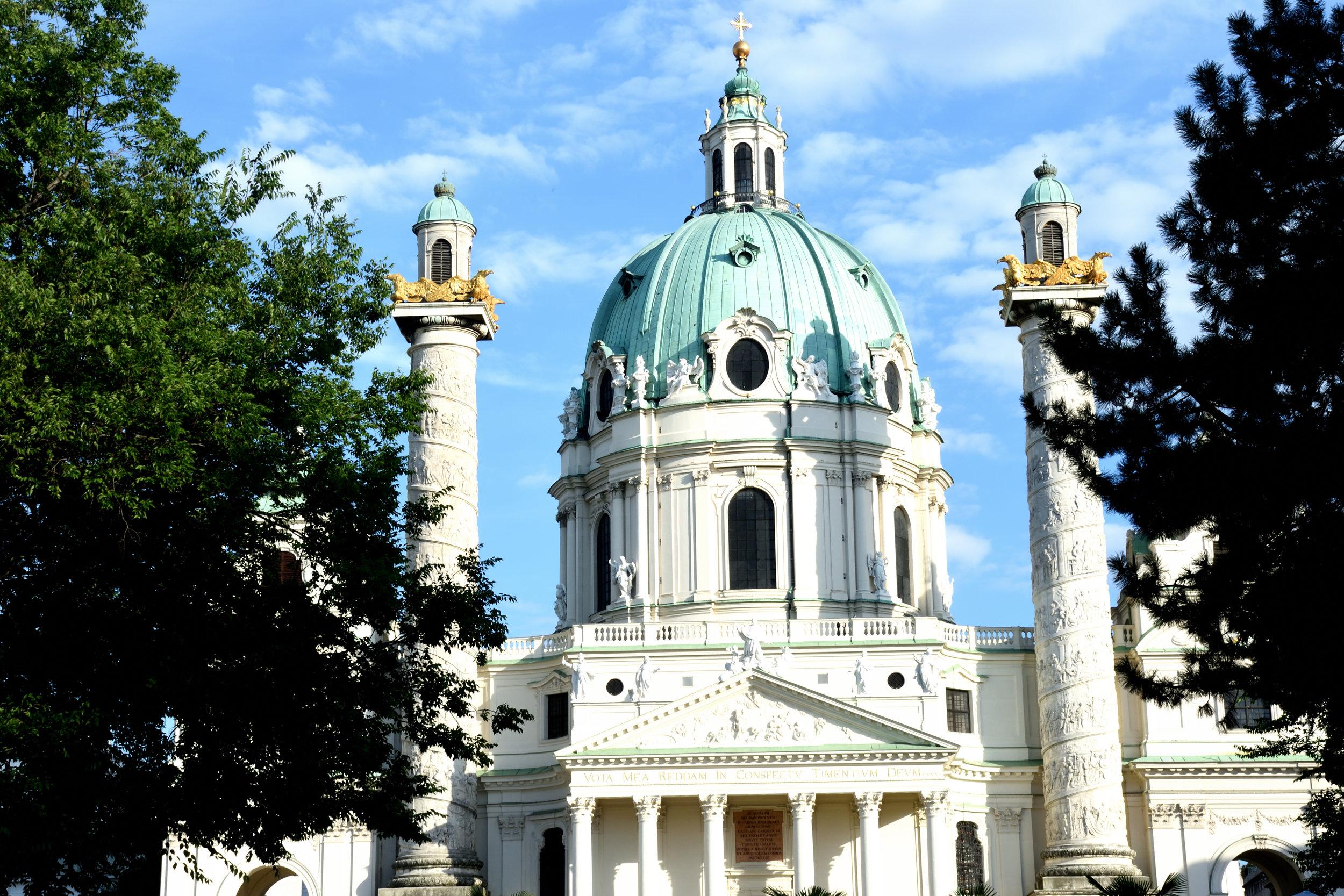 Karlskirche, Vienna July 2017