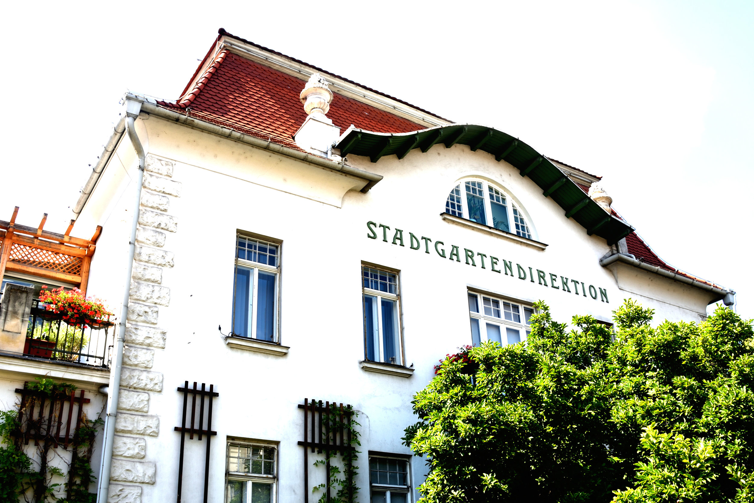 Stadtgartendirektion, Vienna July 2017