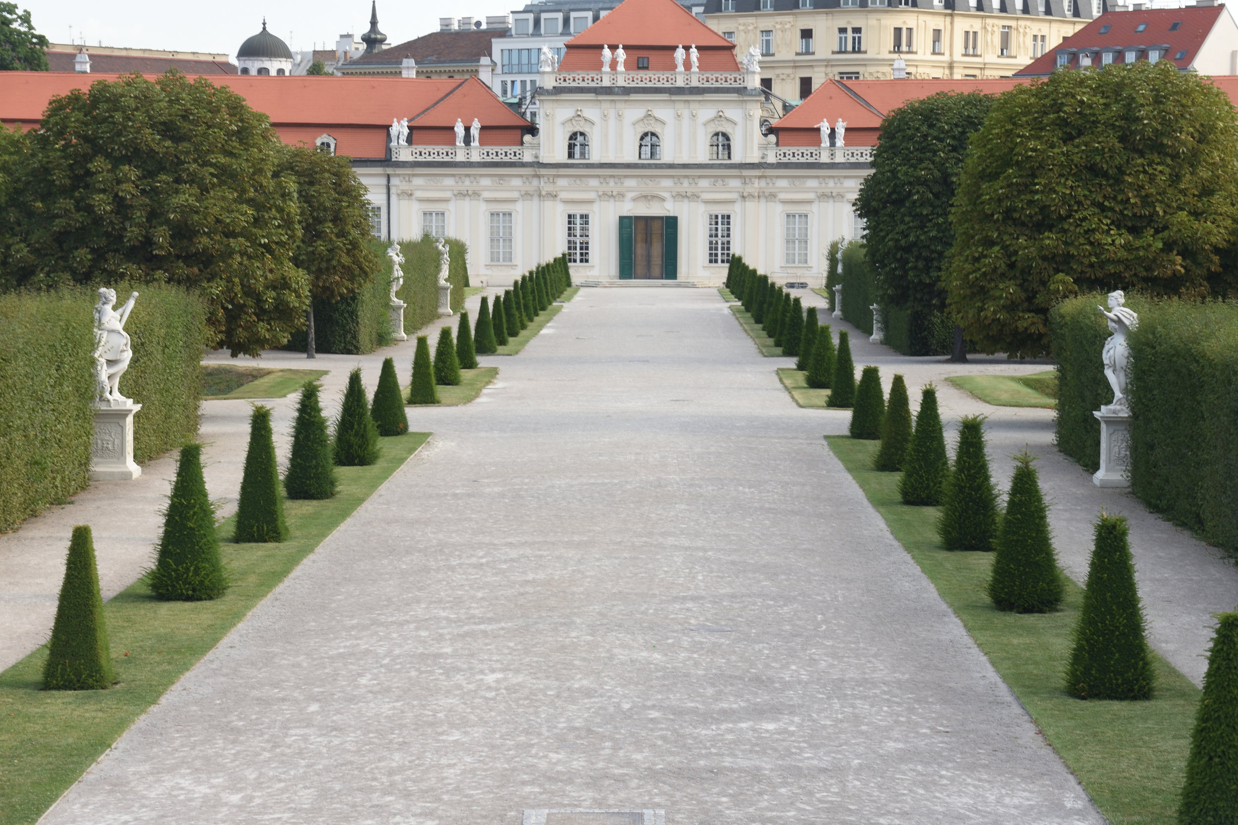 Belvedere, Vienna July 2017