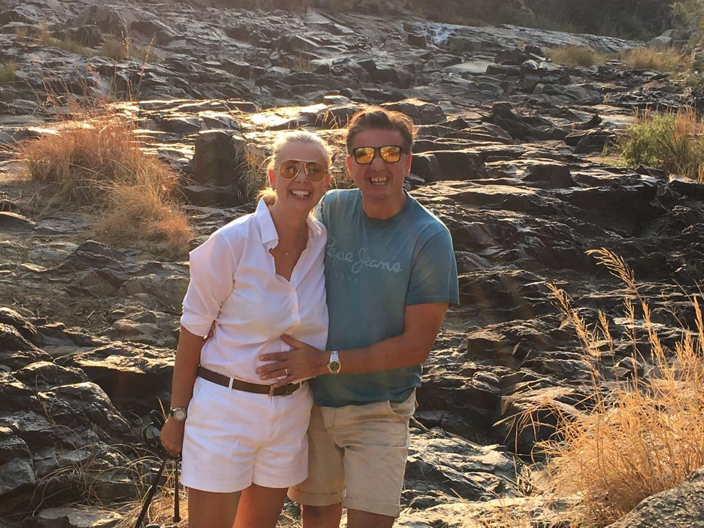 Me & Bojan, Nambiti Game Reserve, South Africa, September 2017