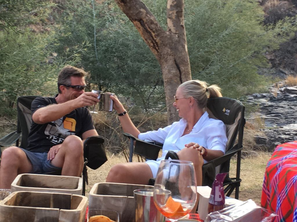 Jaco & me, Nambiti Game Reserve, South Africa, September 2017