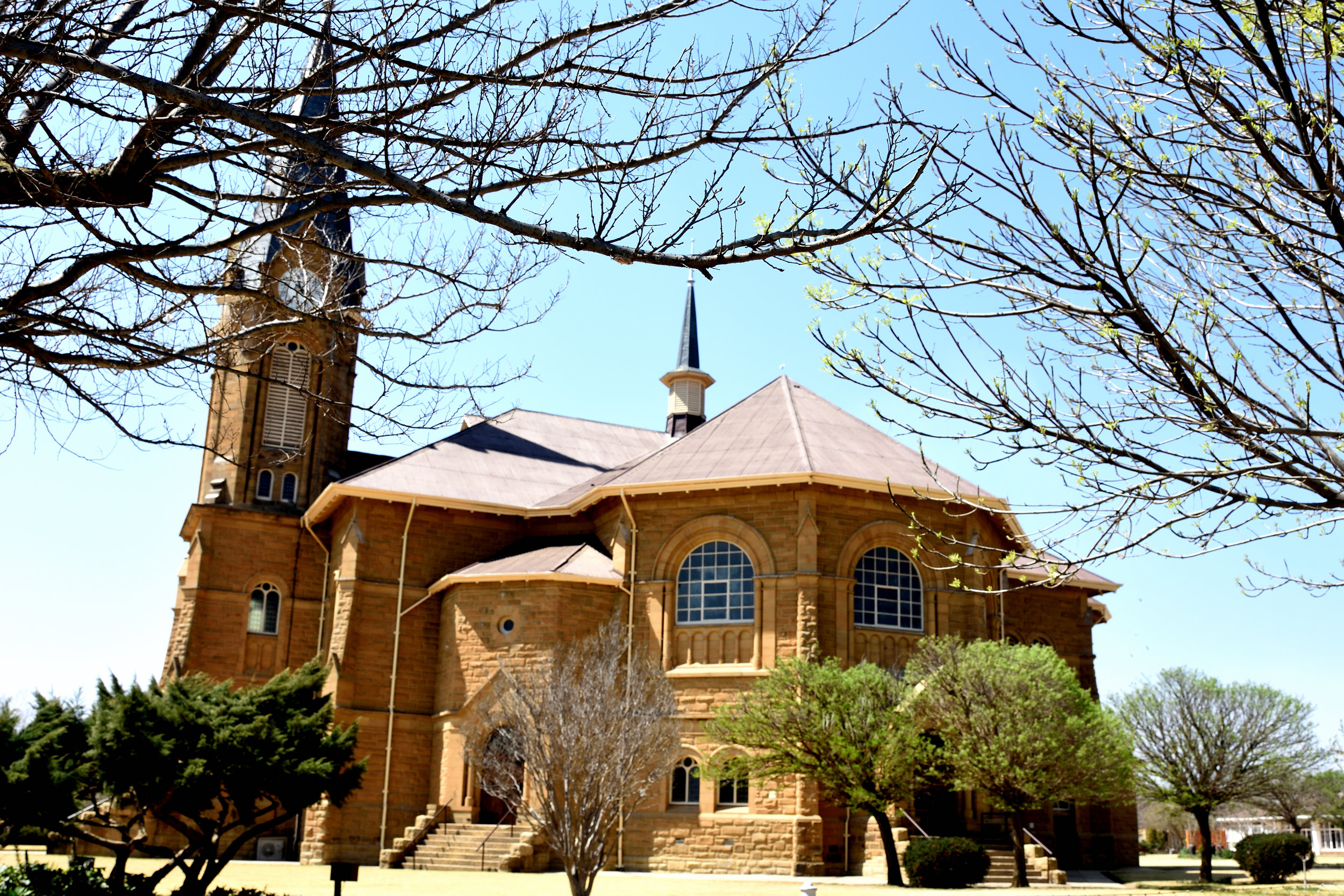 NG Kerk Warden Church in Warden, South Africa, September 2017
