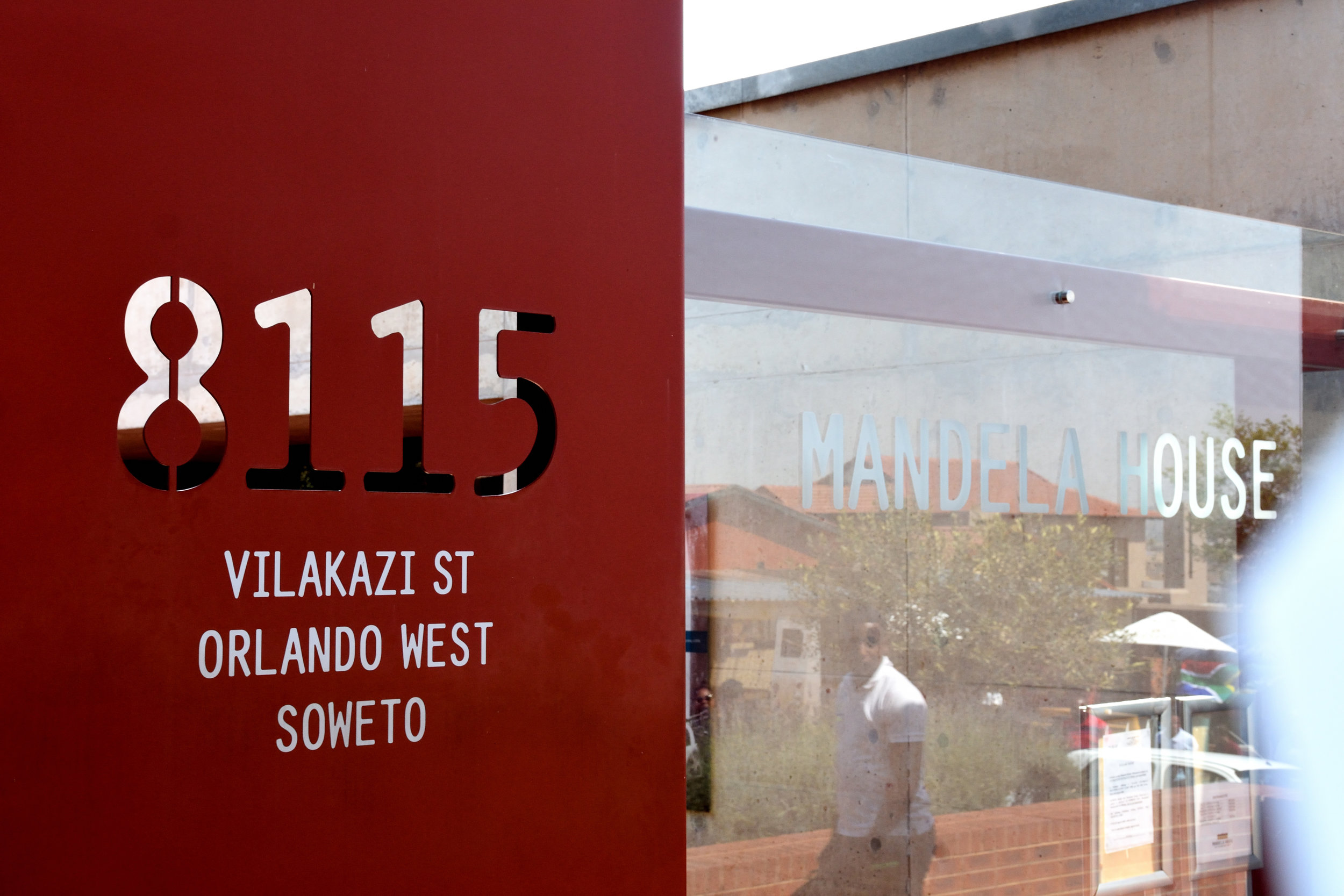 Mandela House, 8115 Orlando West Soweto, South Africa, September 2017