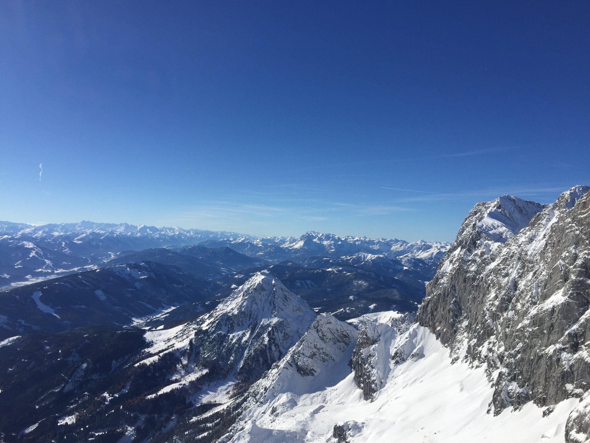 Dachstein, Austria, November 2017