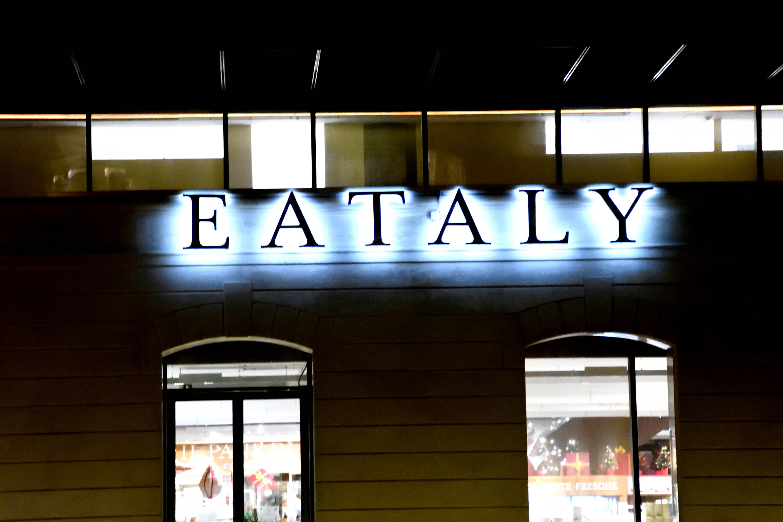 Eataly, Trieste, Italy, November 2017