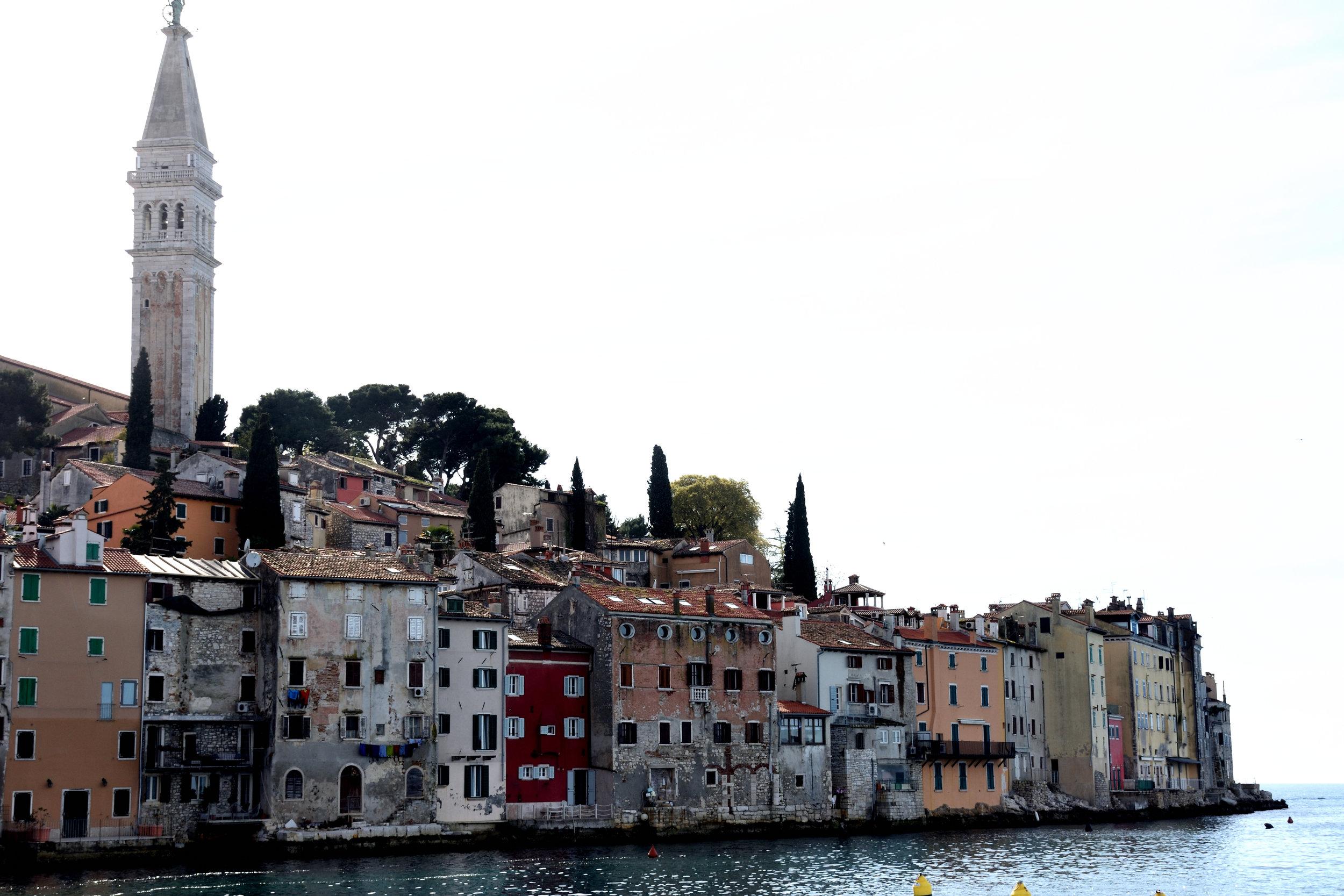Rovinj, Croatia, April 2018