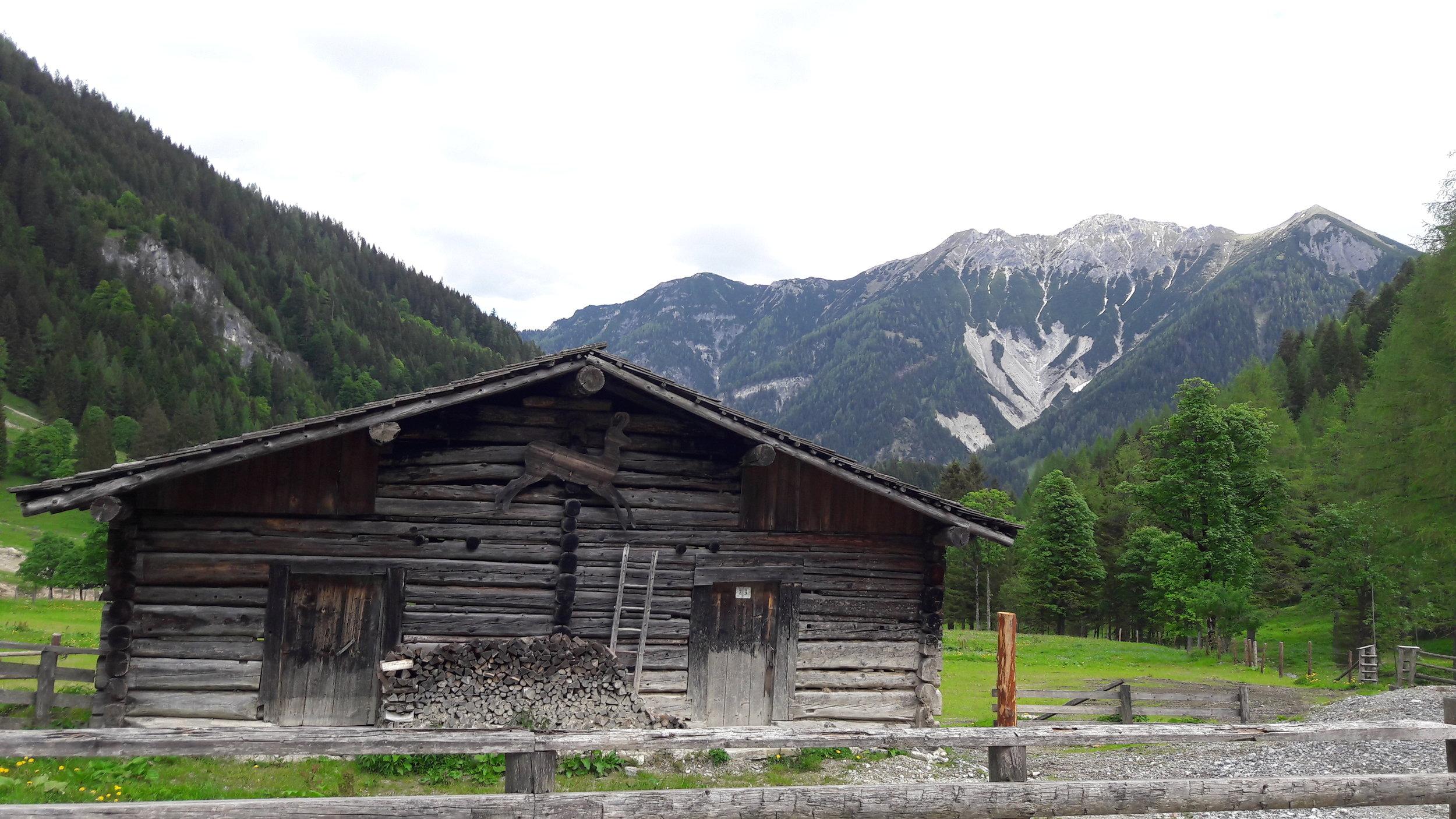 Marbachquelle, Austria May 2018