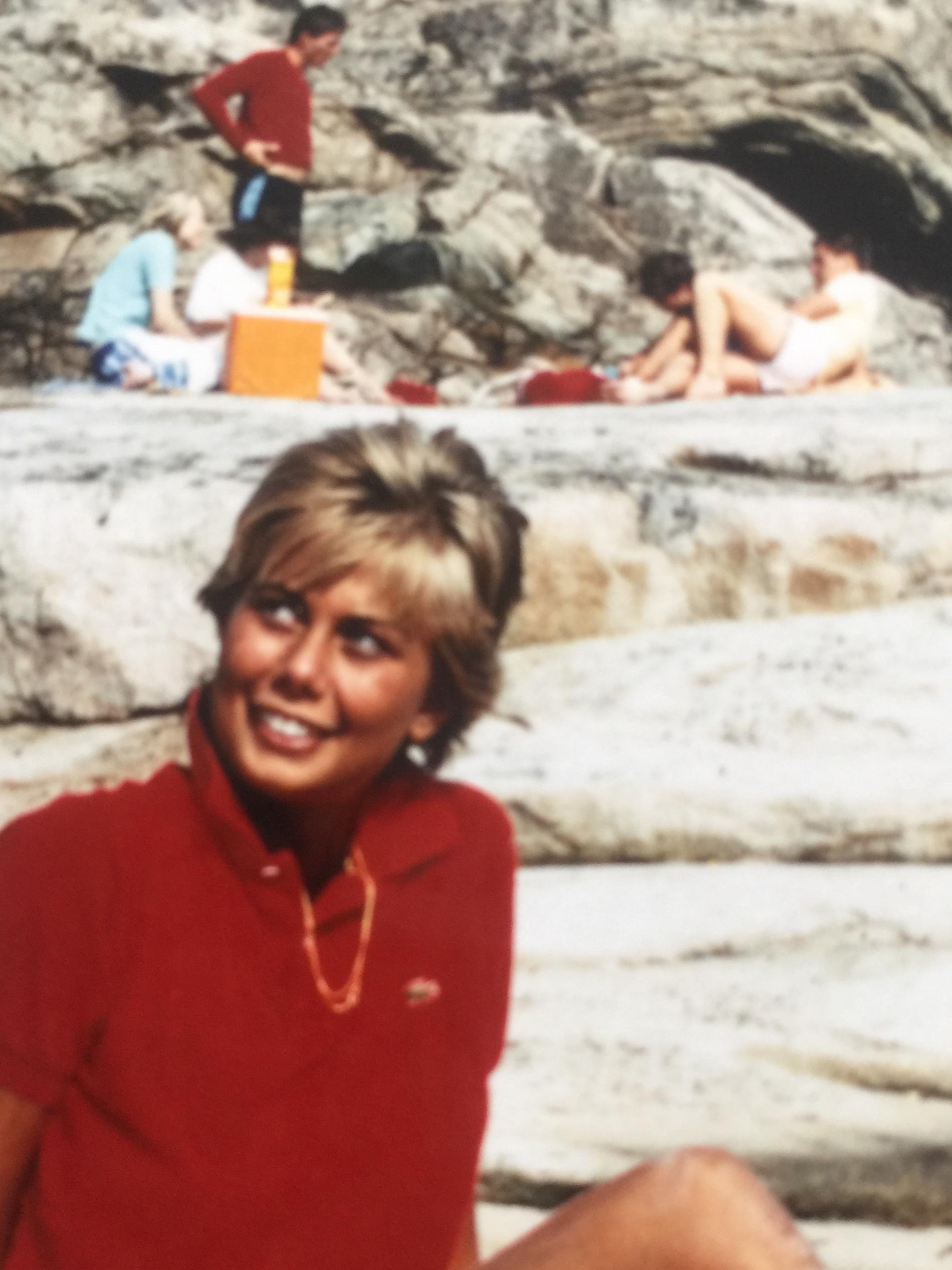 Me at Ramsvik, West Coast of Sweden, 1982