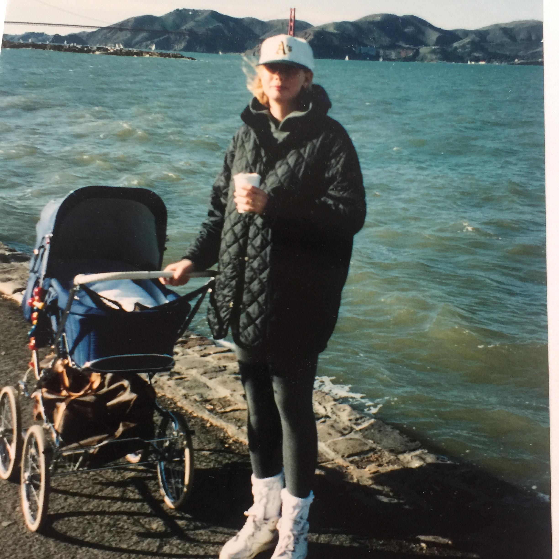 Me and Mimmi, San Francisco, 1992