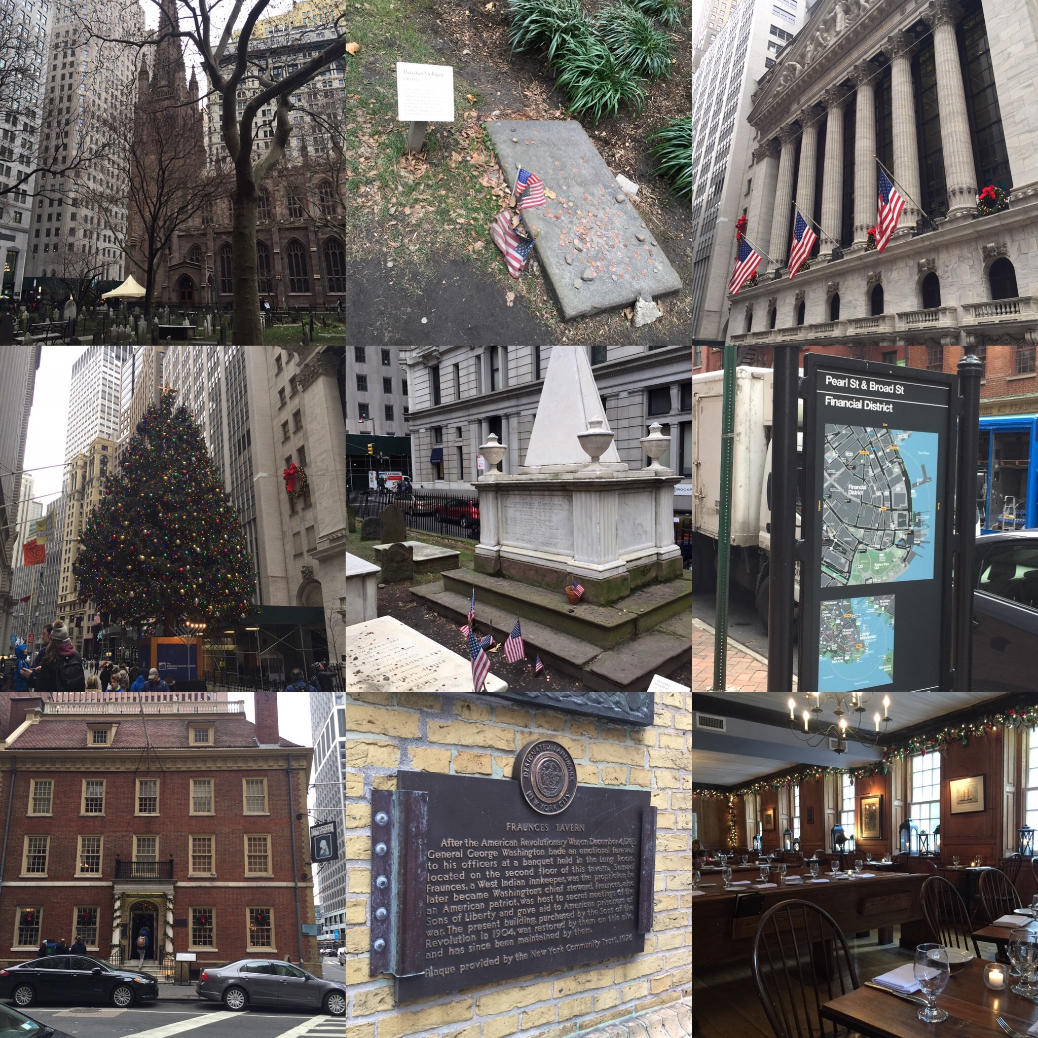 Had so much fun exploring Hamilton's lower Manhattan! The hot cider at Fraunce's Tavern was AMAZING on a freezing winter's day!