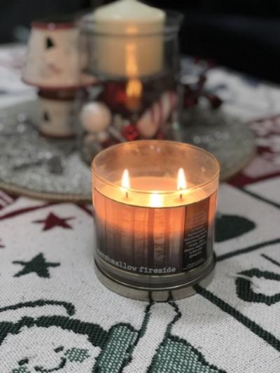 Marshmallow Fireside is so cozy!