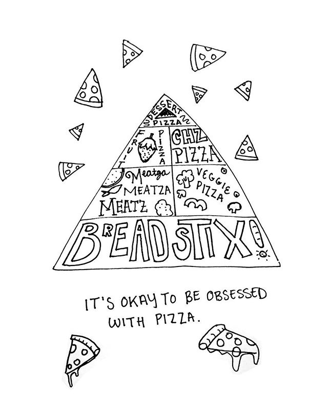IT'S OKAY TO BE OBSESSED WITH PIZZA. 🍕 🍕 Pizza is my bae 🍕 Hot or cold, thick or thin, 'za 🍕 Will always be mine 🍕 🍕  A beautiful and heartfelt haiku by @lonestarlahr