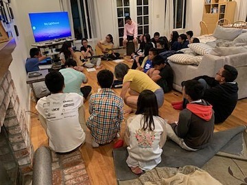 SEPT 6, 2019 || kicked off the first youth group of the season. on the side, parents and young ones had their time of fellowship too. come every other Friday at 7pm at the Lee's!