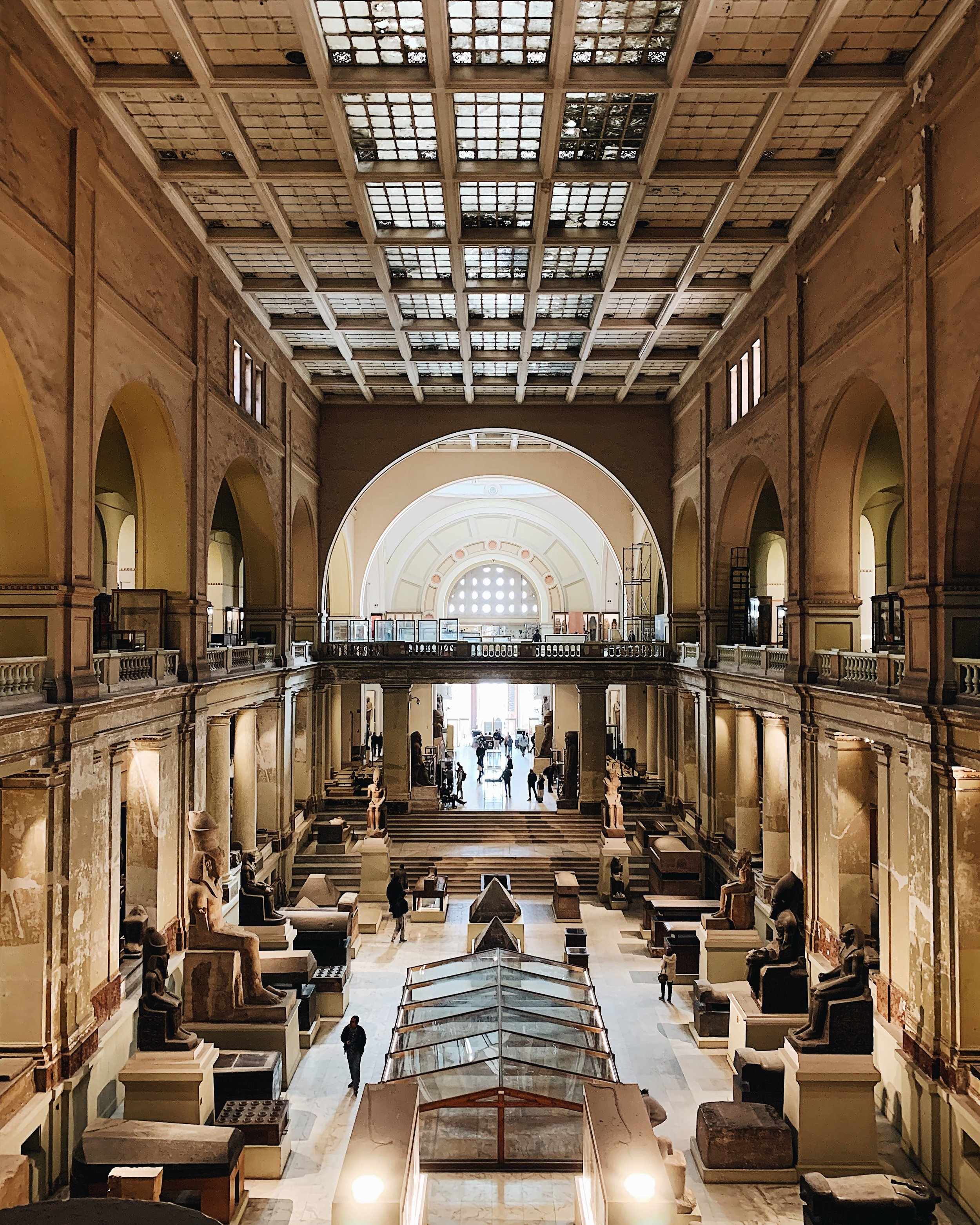 Egyptian Museum or Museum of Cairo, in Cairo, Egypt